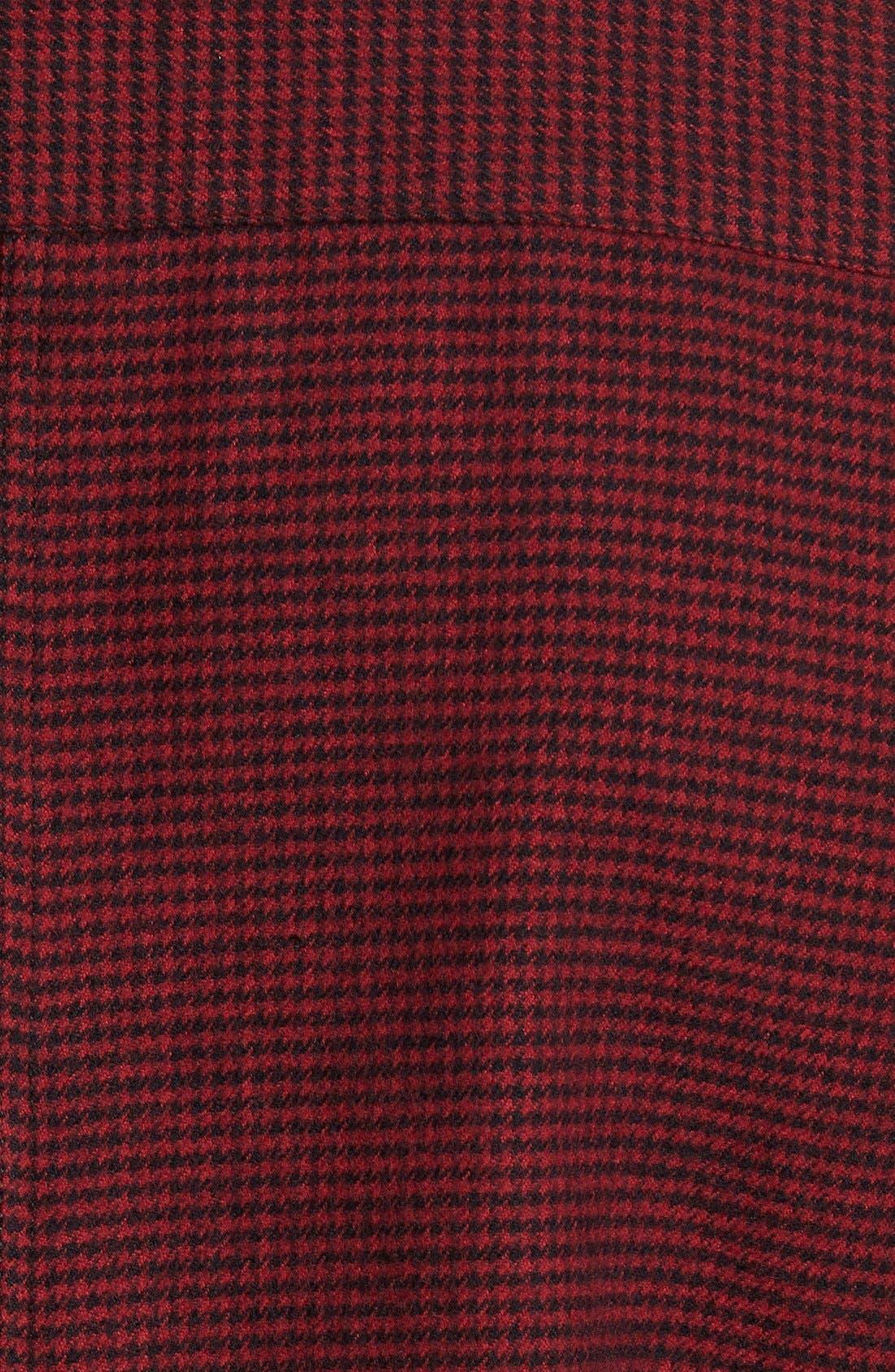 Alternate Image 4  - Slate & Stone Parker Slim Fit Houndstooth Flannel Shirt
