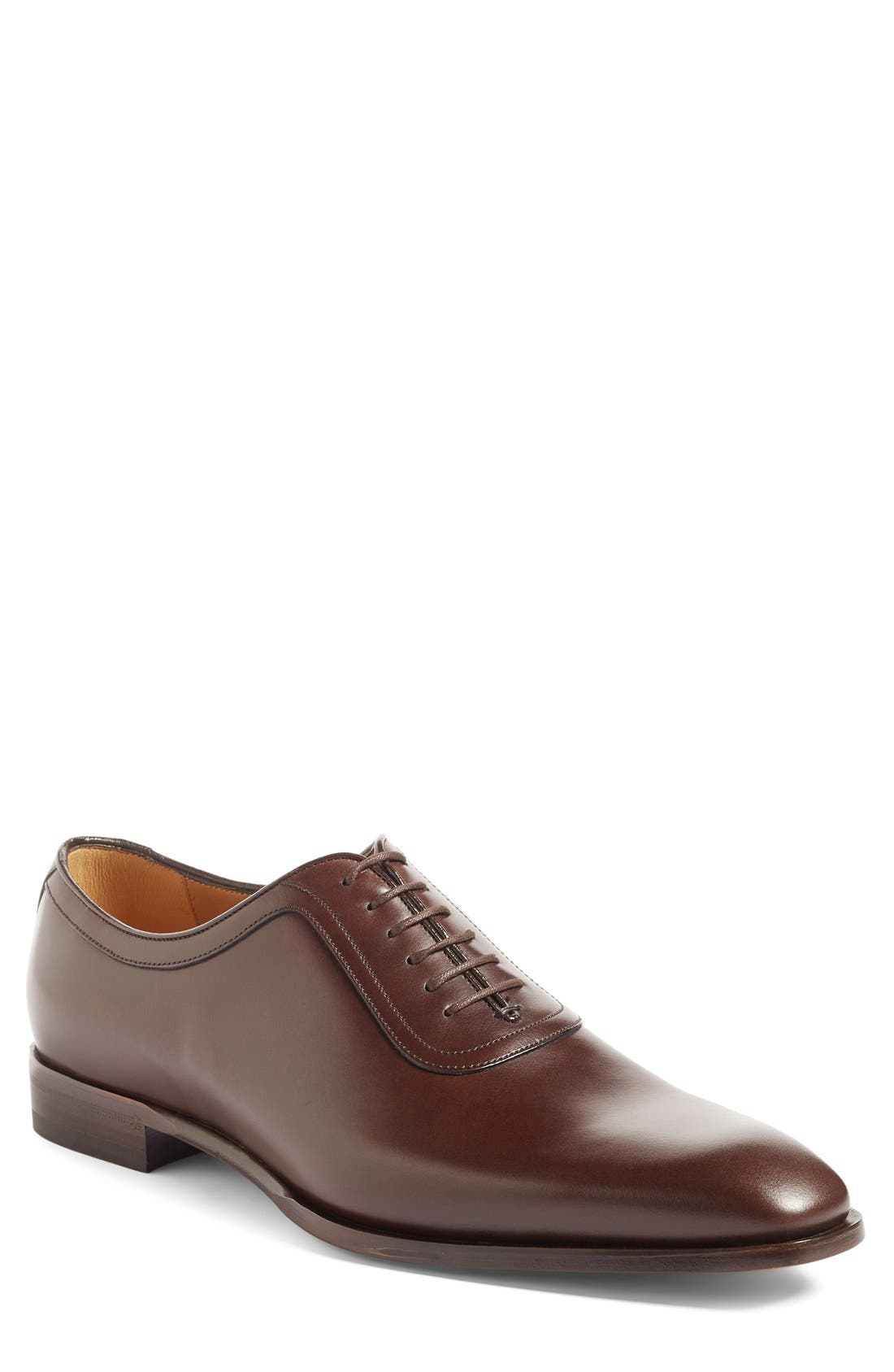 Gucci Broadwick Plain Toe Oxford (Men)