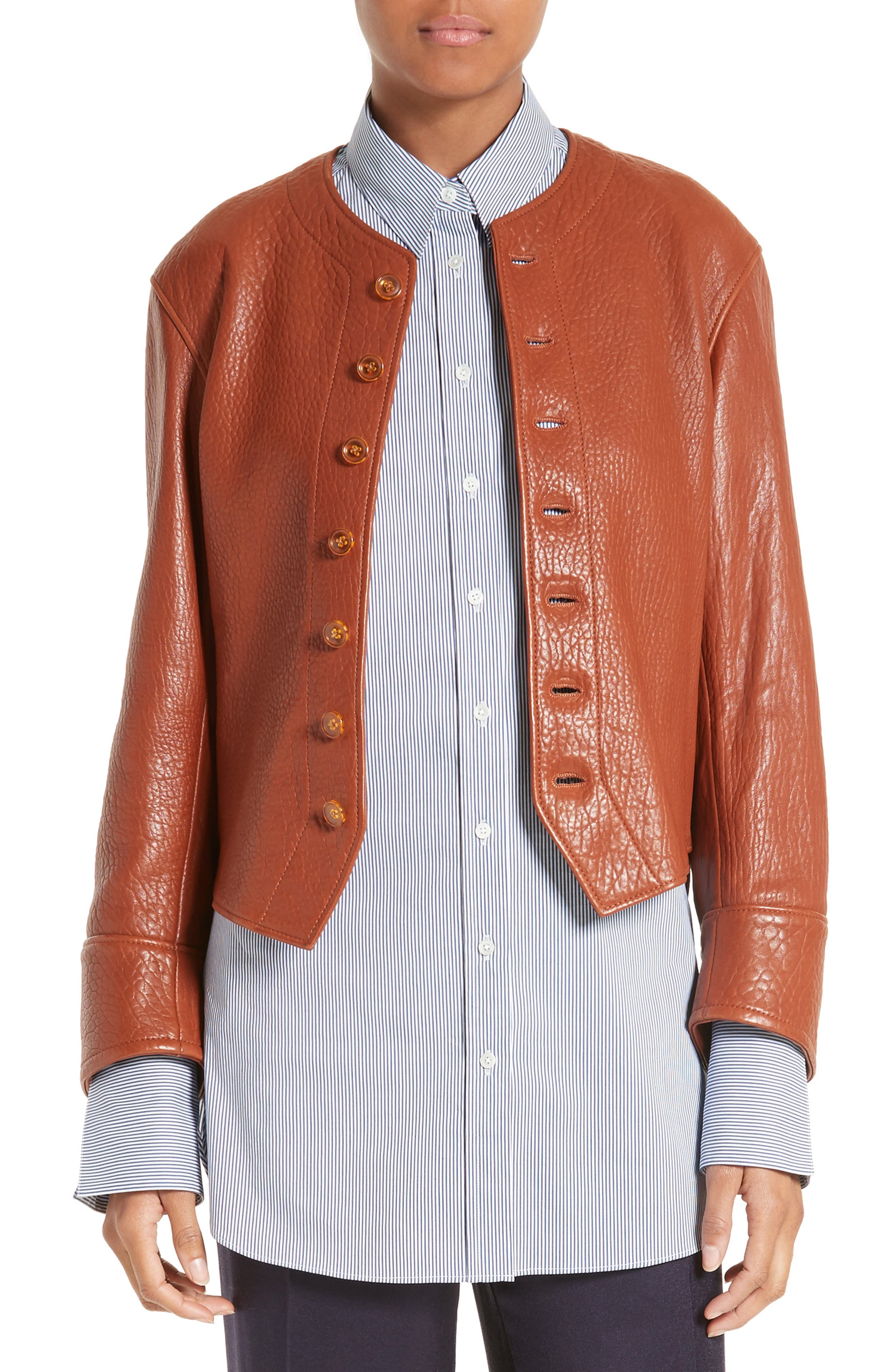 JOSEPH Orlan Leather Jacket
