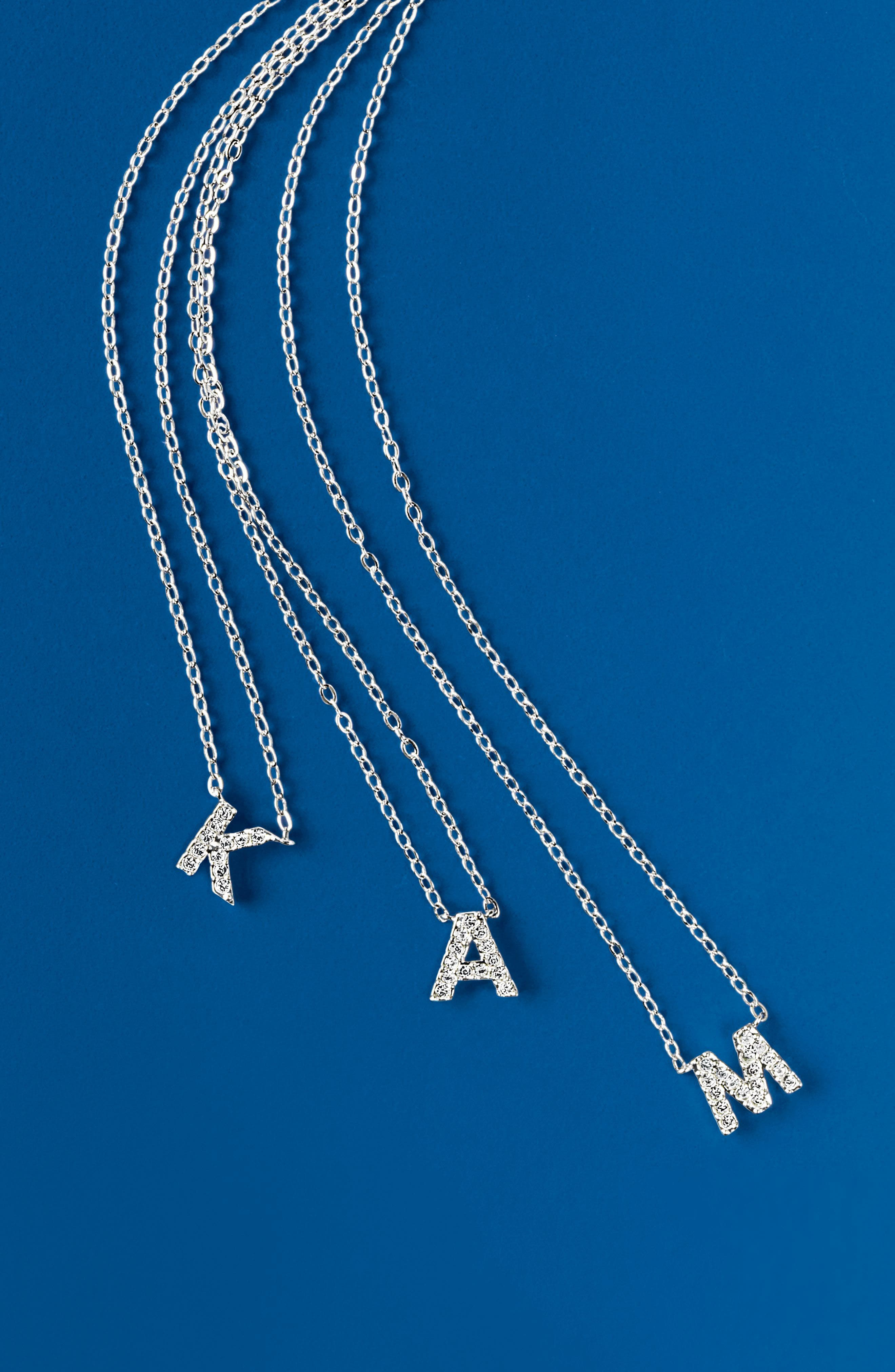 Alternate Image 3  - Nadri Initial Pendant Necklace
