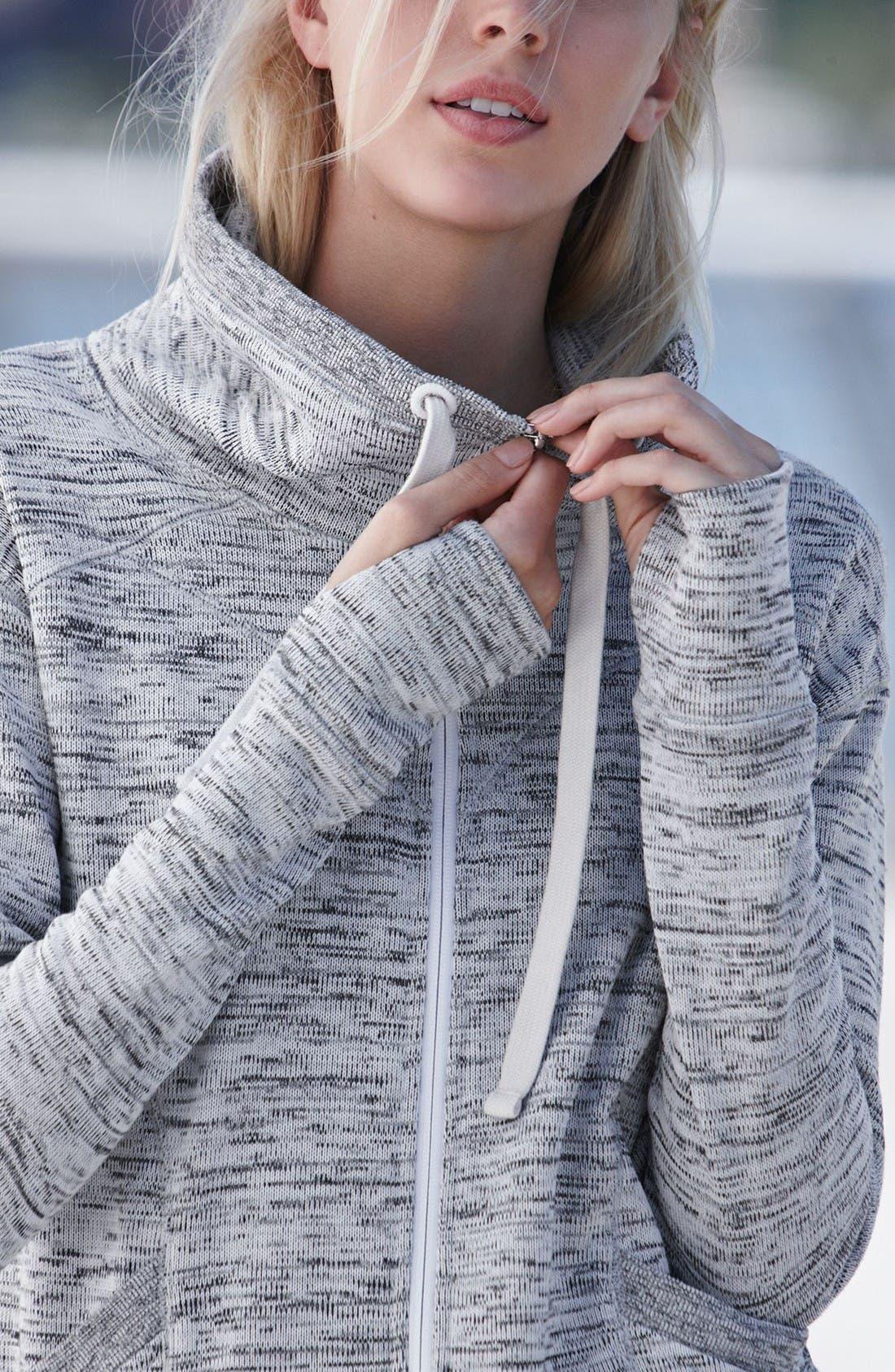 Alternate Image 7  - Zella Cozy to the Core Sweater Jacket