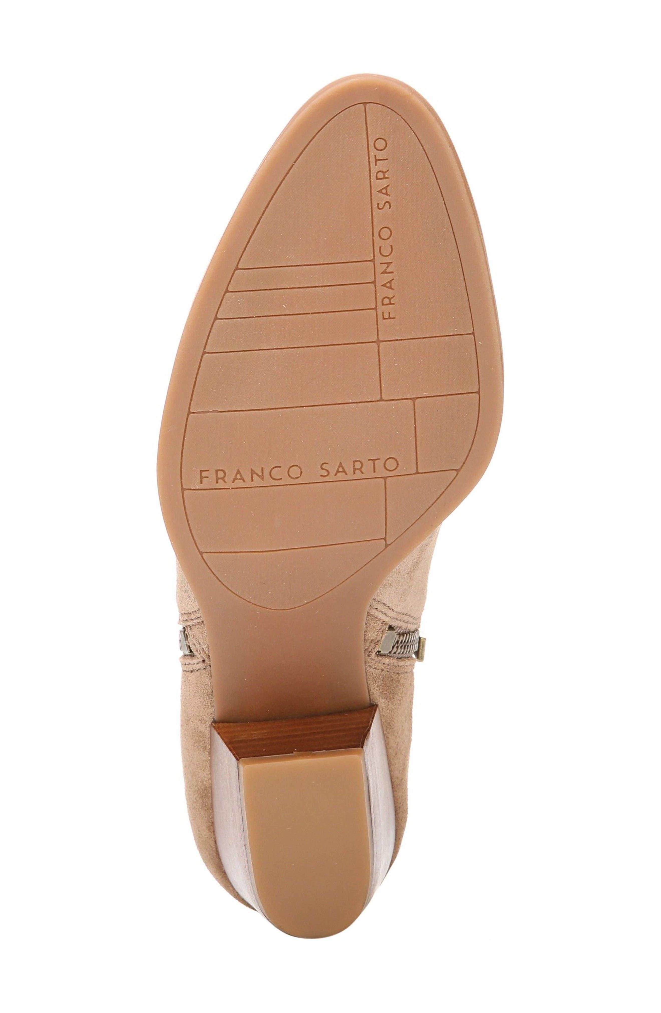 Alternate Image 4  - SARTO by Franco Sarto 'Granite' Block Heel Bootie (Women)