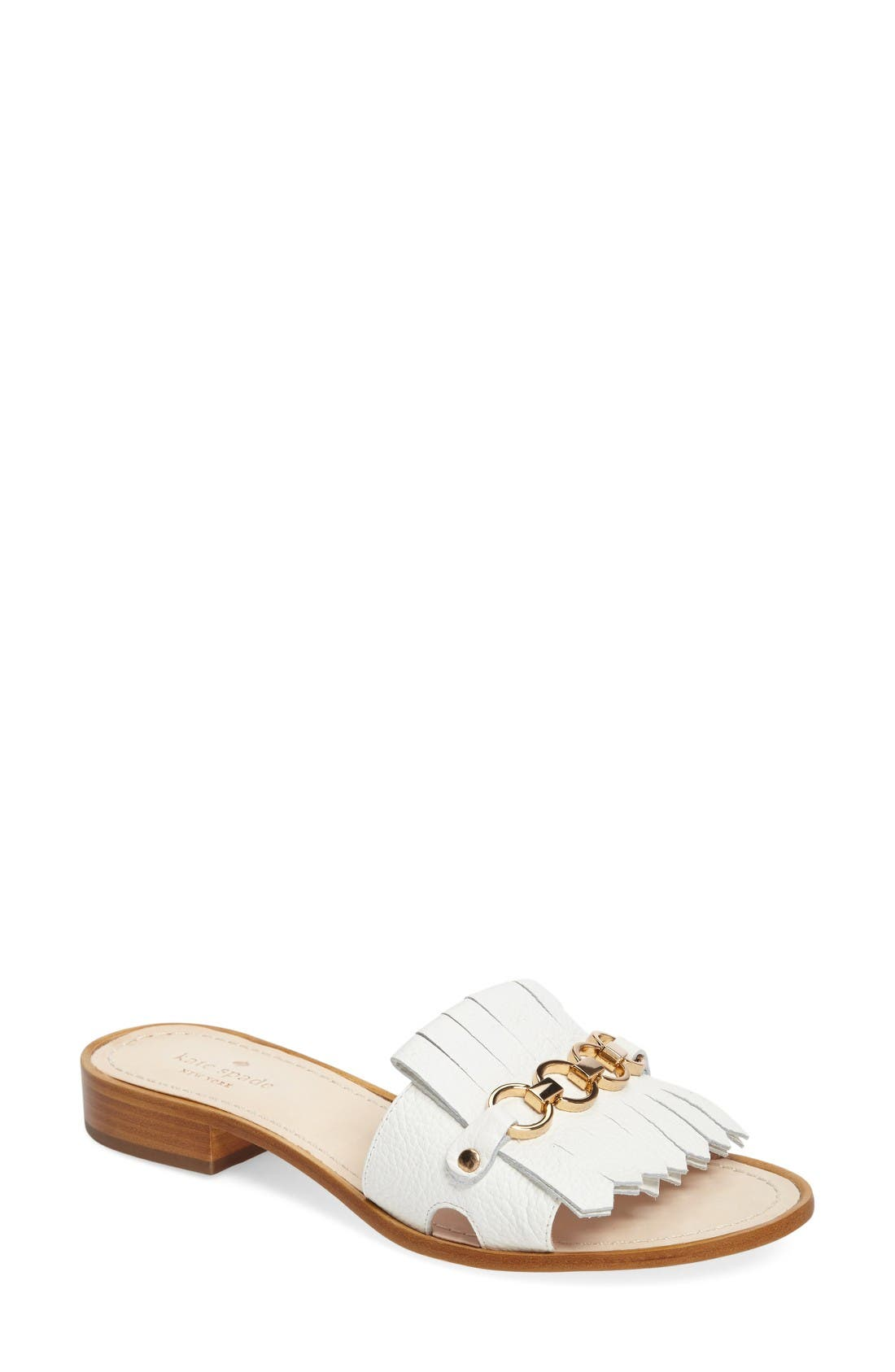 kate spade new york brie slide sandal (Women)