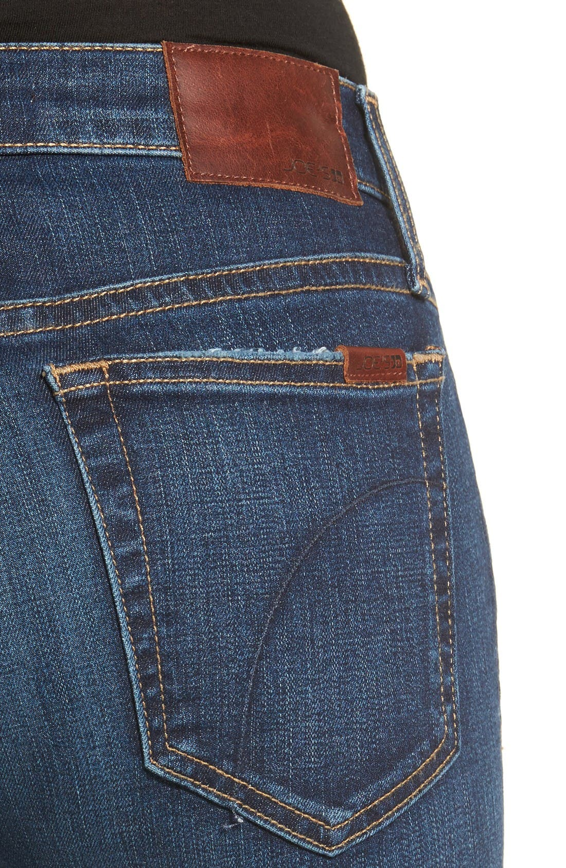 Alternate Image 4  - Joe's Flawless - Honey Curvy Skinny Jeans (Tania)