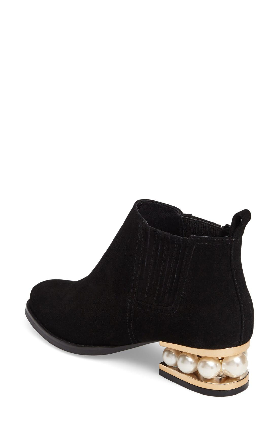 Alternate Image 2  - Jeffrey Campbell Warr-MP Pearly Orbed Chelsea Boot (Women)