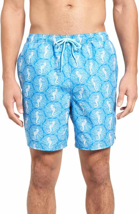 Vineyard Vines Seahorse Dot Bungalow Board Shorts