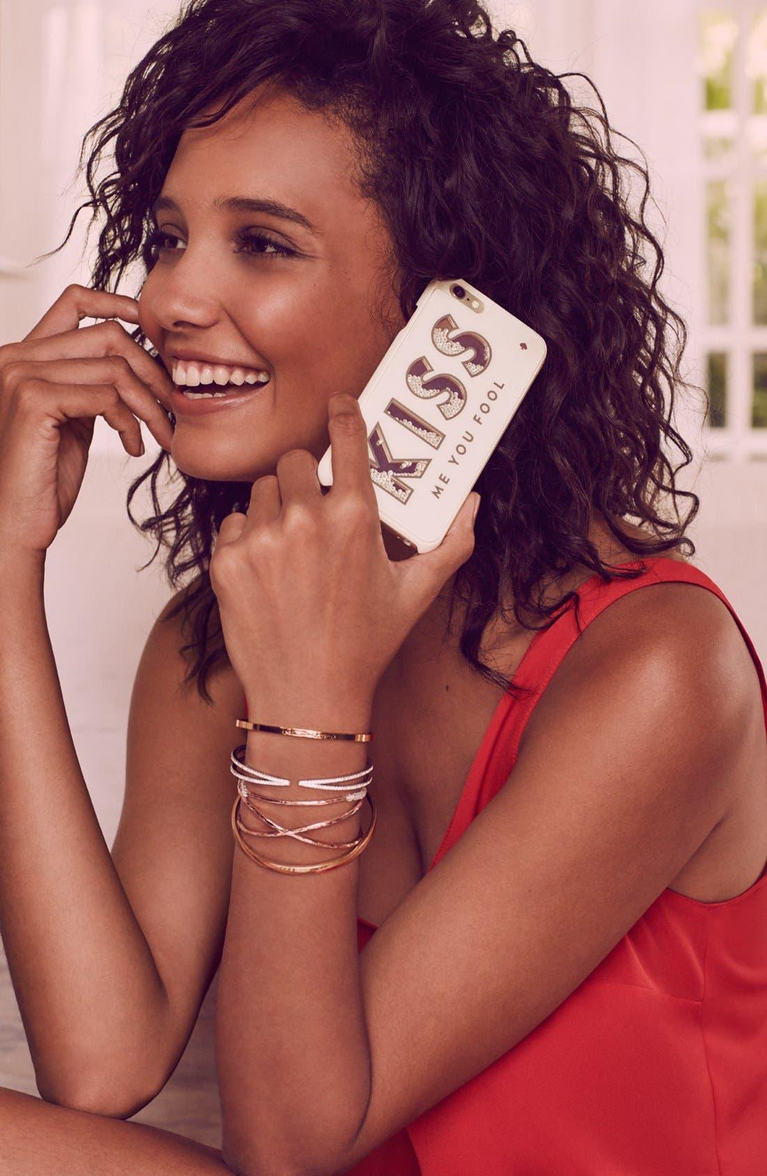 Alternate Image 5  - Nadri Pavé Hinged Crossover Bracelet (Nordstrom Exclusive)