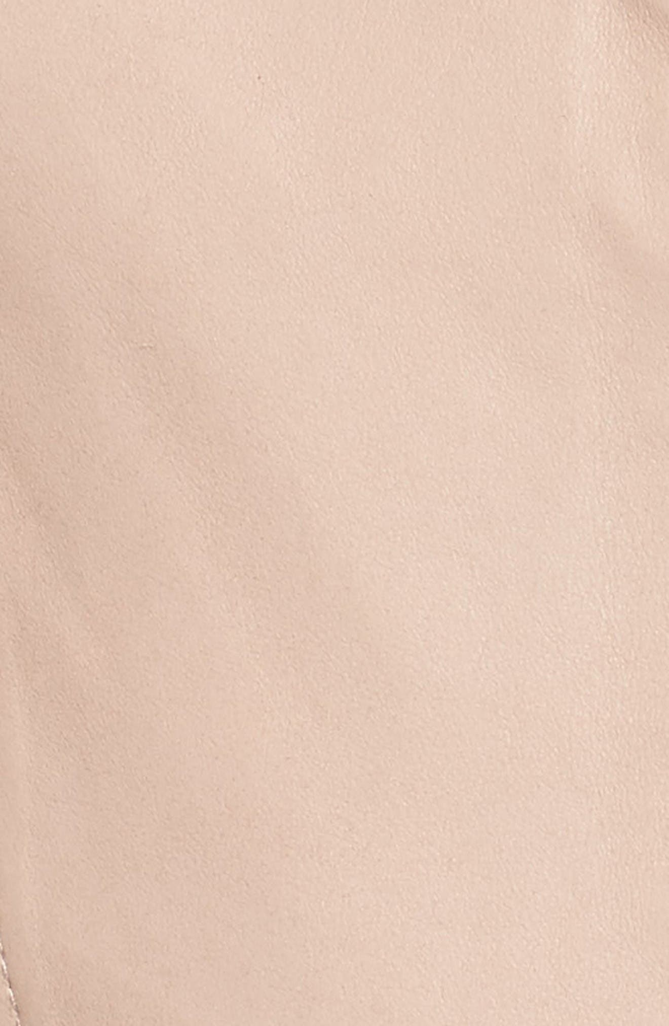 Alternate Image 5  - MICHAEL Michael Kors Leather Moto Jacket