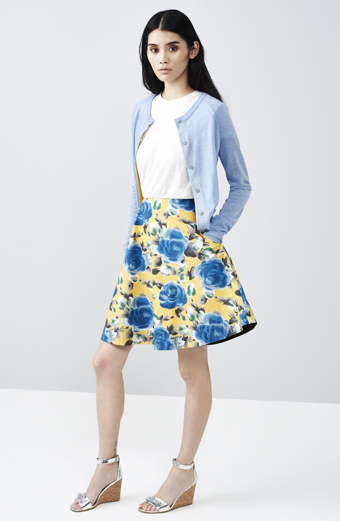 Alternate Image 5  - MARC BY MARC JACOBS Floral Print Circle Skirt