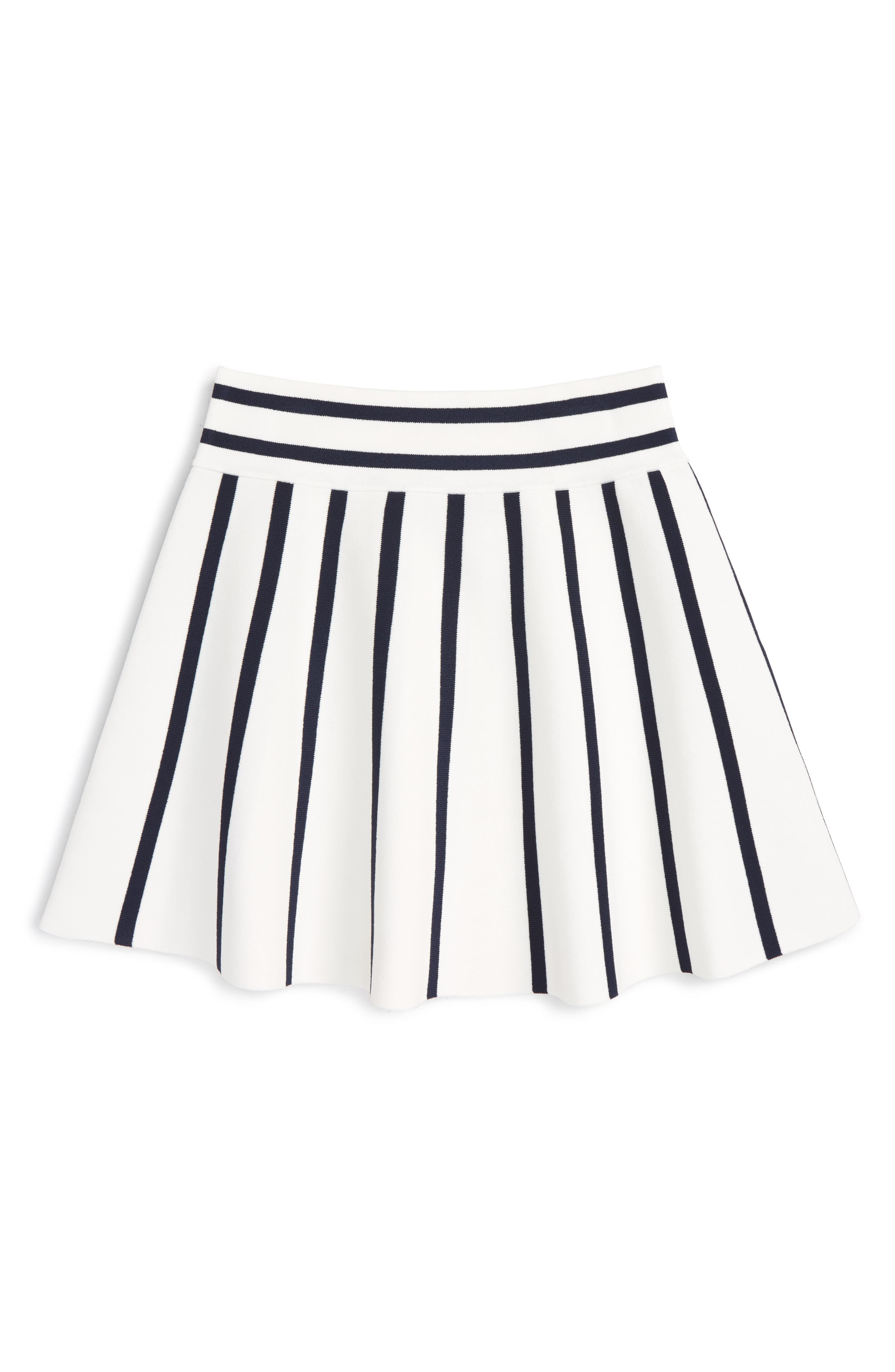 Milly Minis Knit Fit & Flare Skirt (Big Girls)