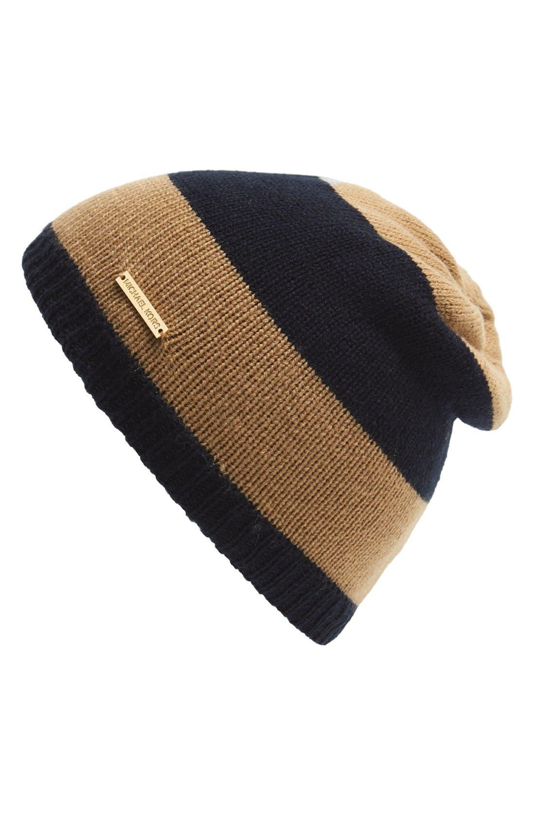 Alternate Image 1 Selected - MICHAEL Michael Kors Reversible Skull Hat