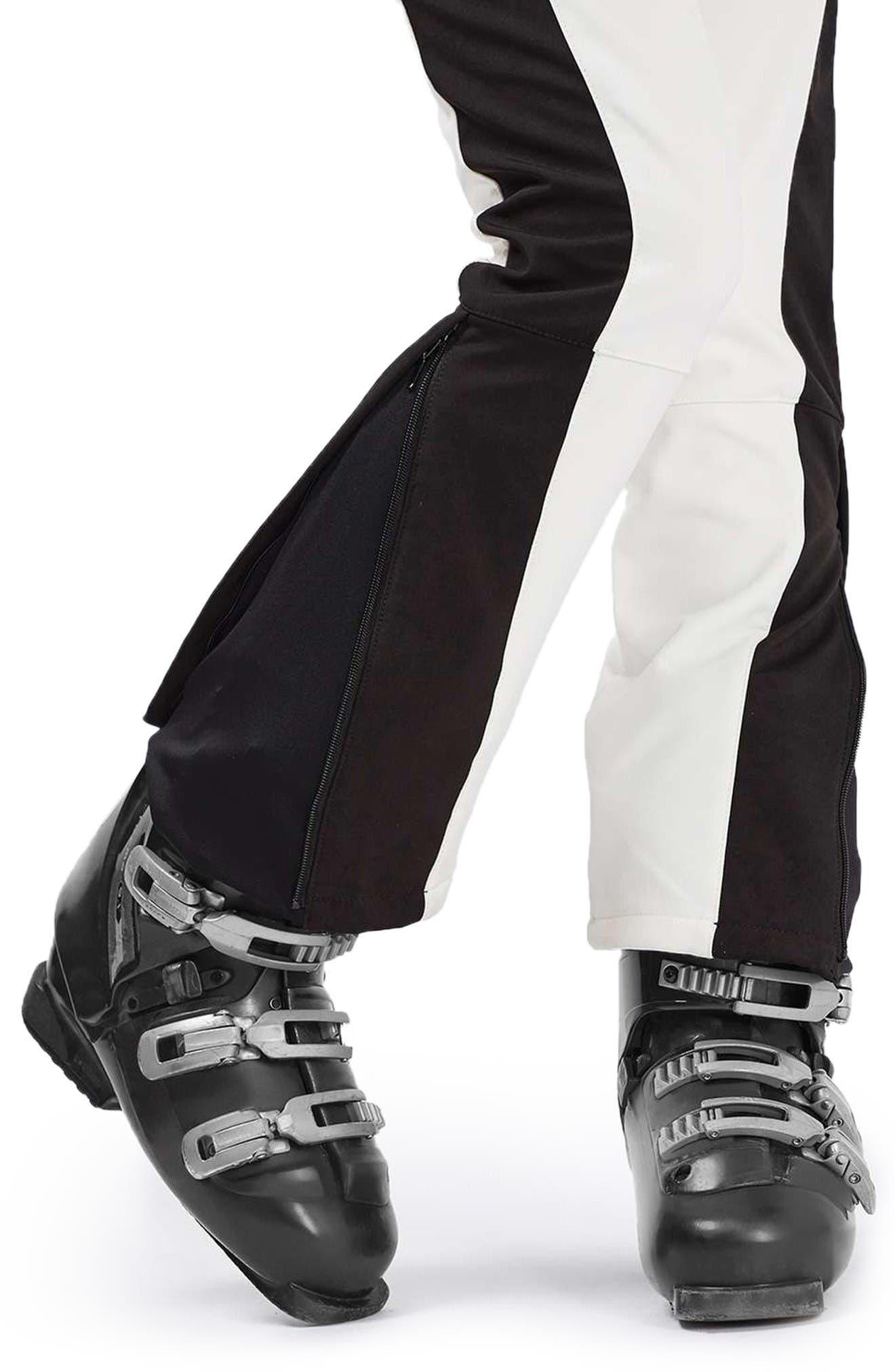 Alternate Image 5  - Topshop Ziggy Skinny Fit Snow Pants