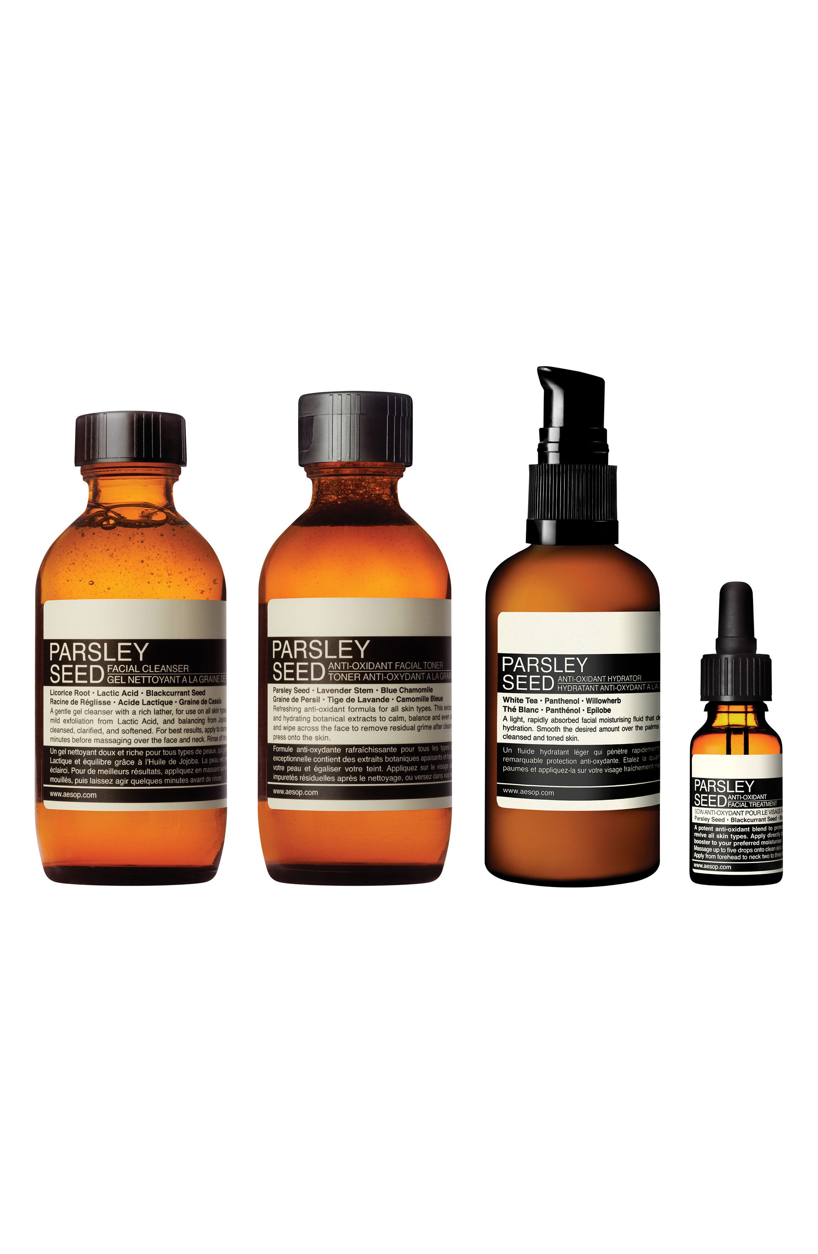 Main Image - Aesop The Intent Observer Parsley Seed Skin Care Kit