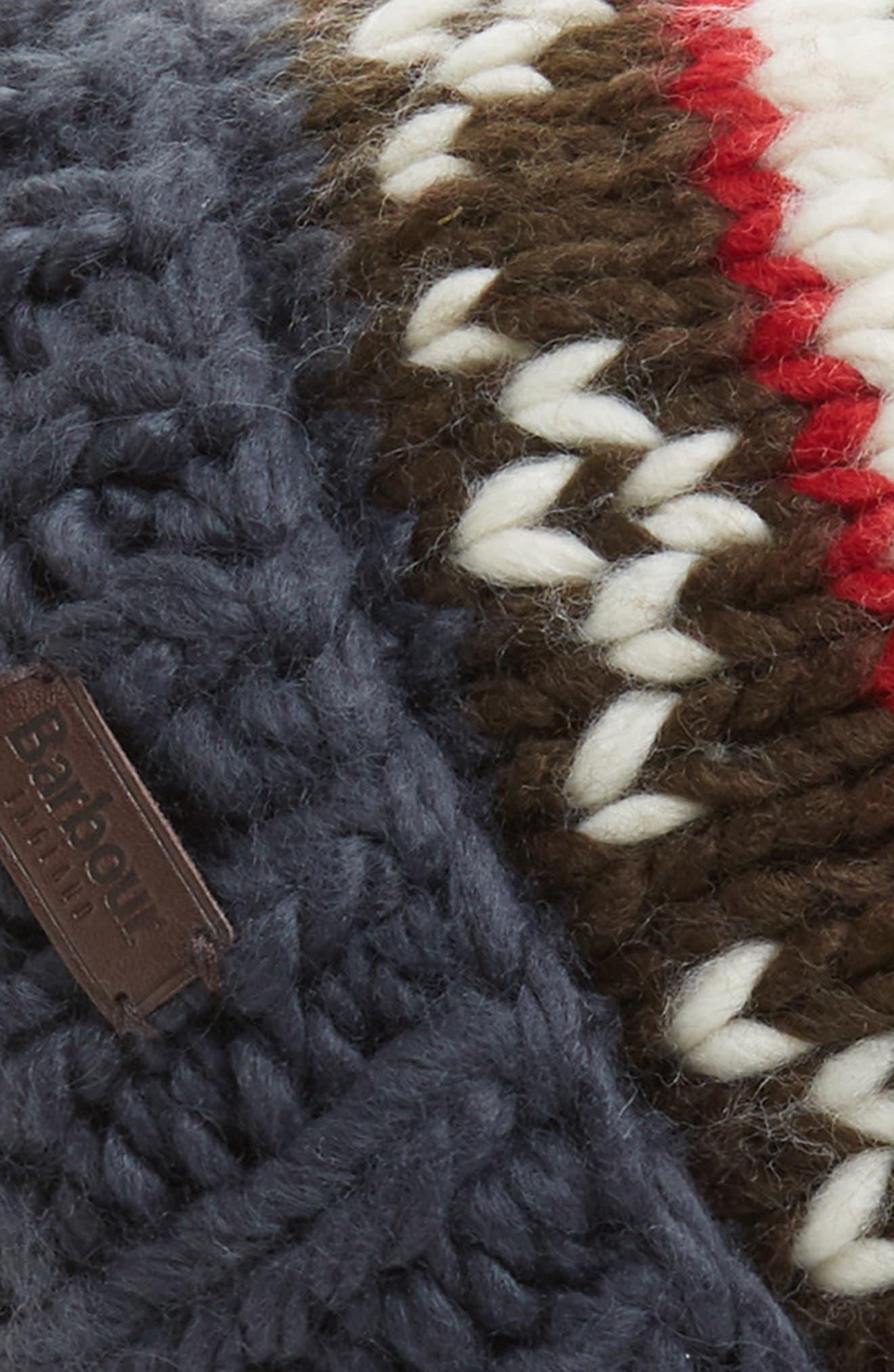 Alternate Image 2  - Barbour Easton Wool Blend Beanie