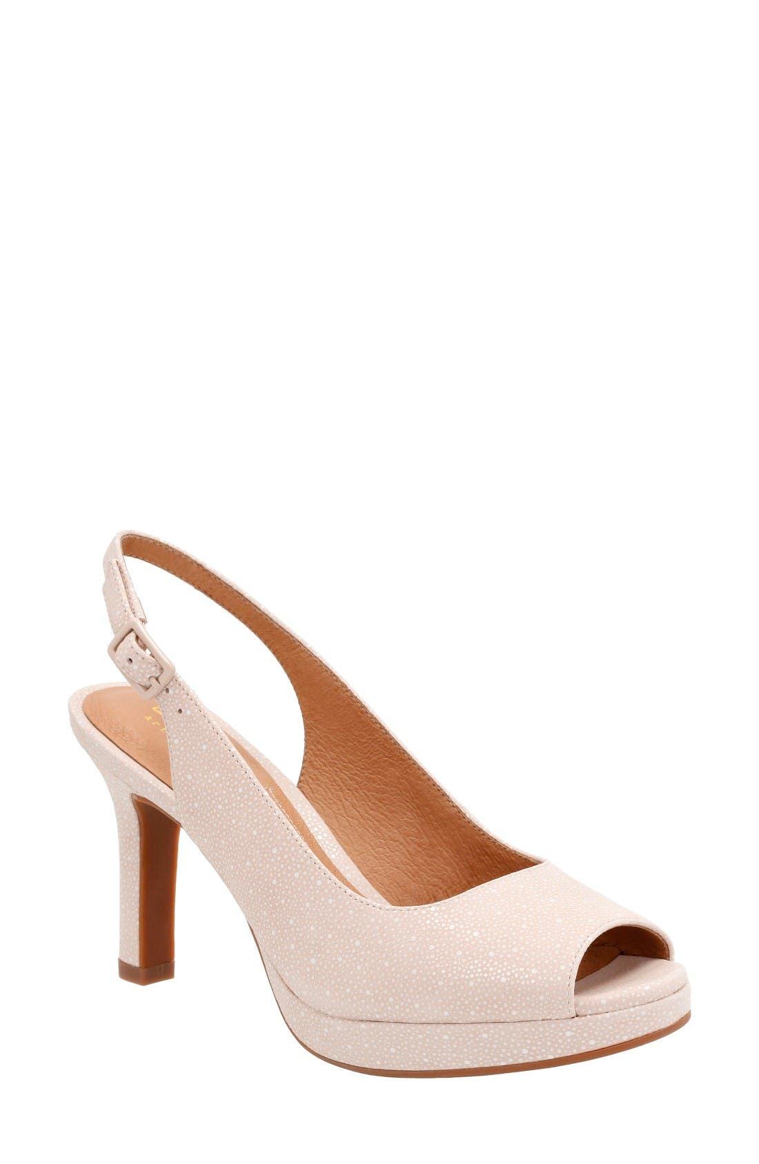 Clarks® Mayra Blossom Sandal (Women)