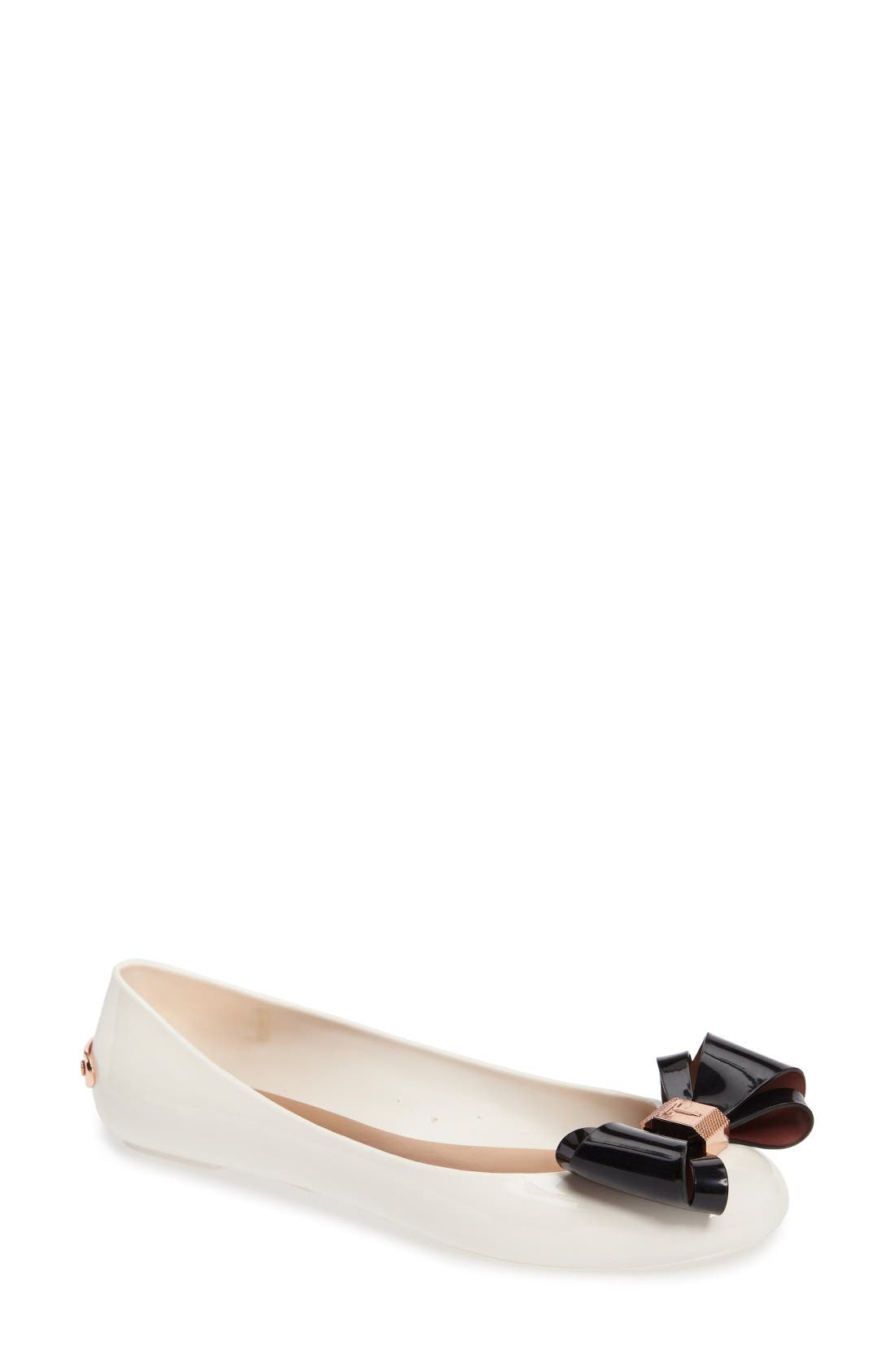 Ted Baker London Julivia Bow Flat (Women)