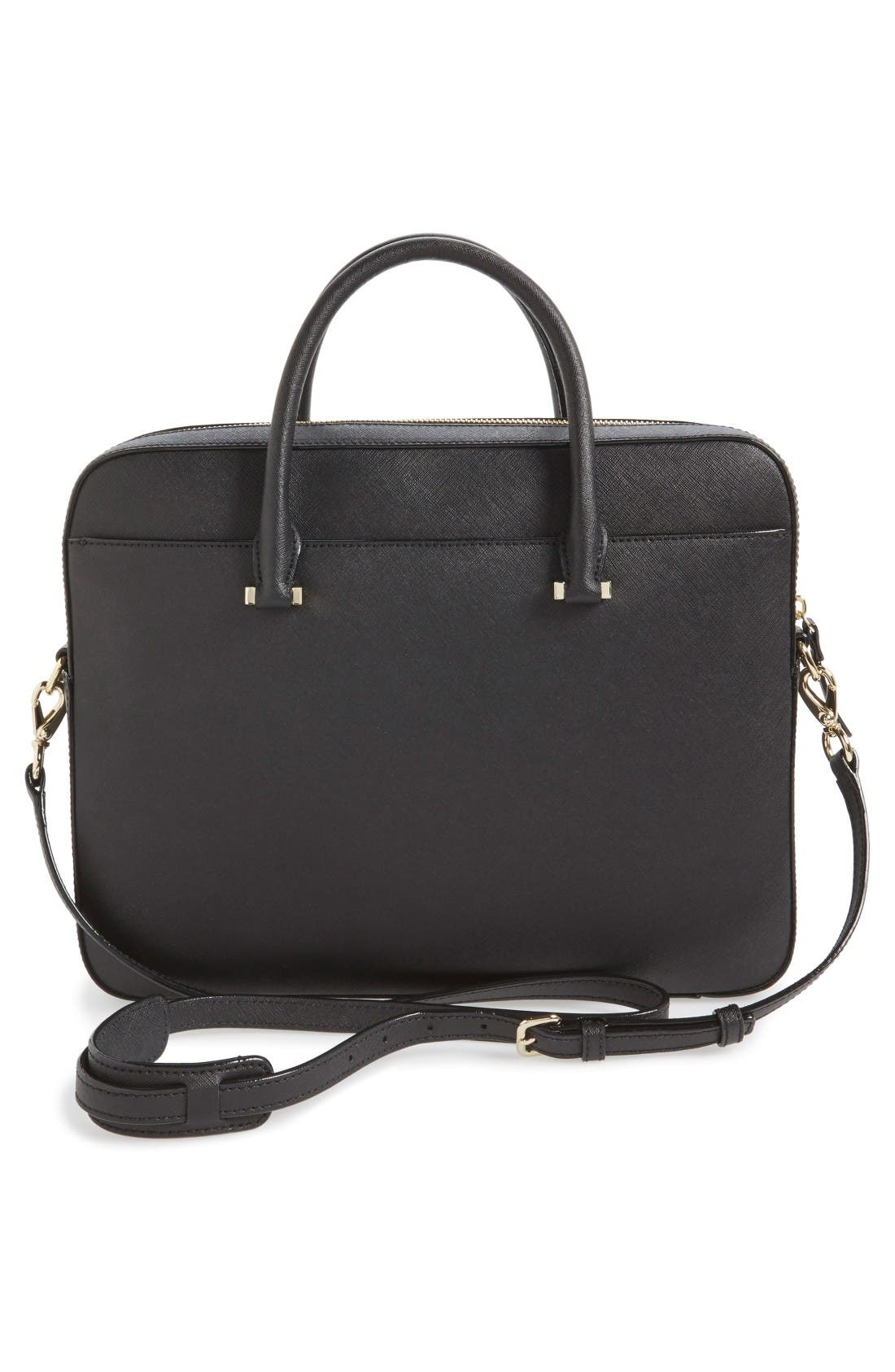 Alternate Image 2  - kate spade new york saffiano leather 13 inch laptop bag