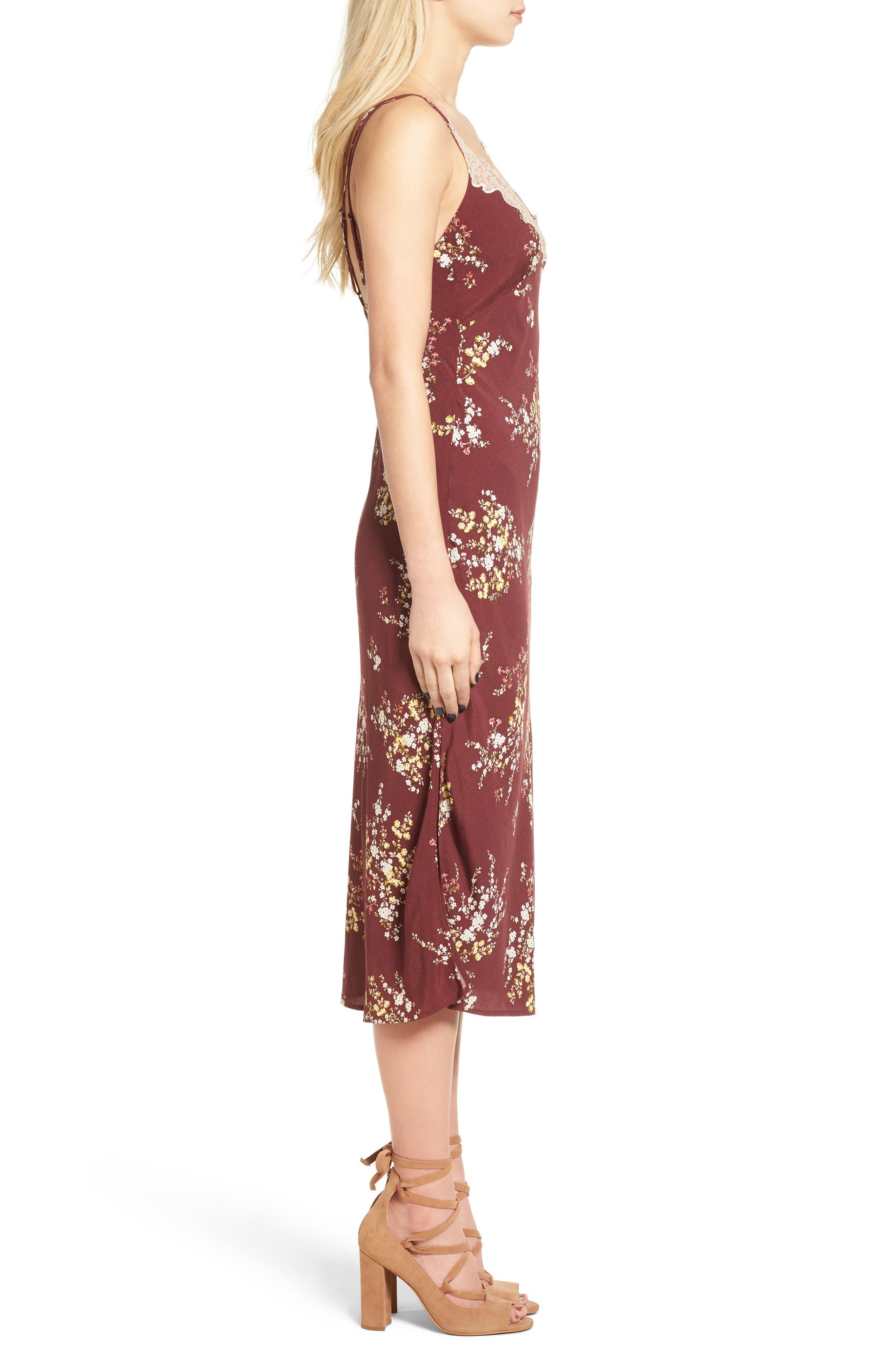 Alternate Image 4  - ASTR the Label Iris Midi Dress