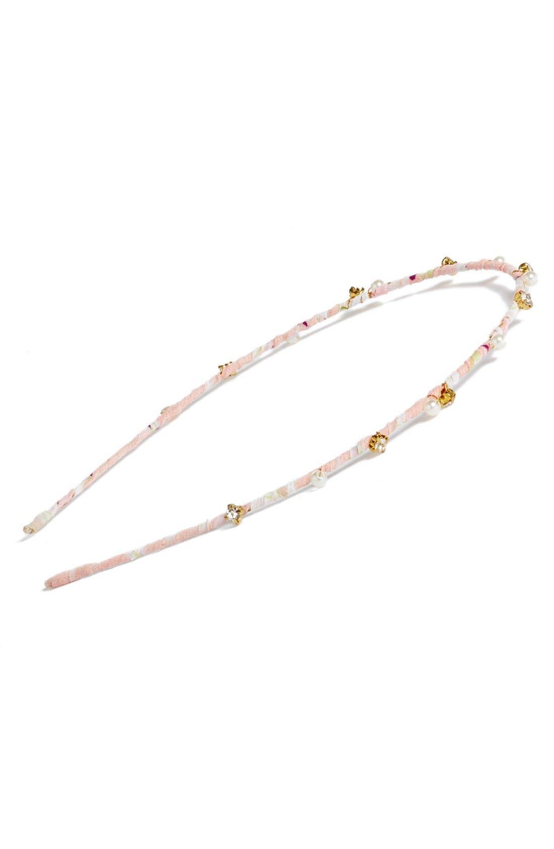 Alternate Image 1 Selected - Tasha Embellished Fabric Headband