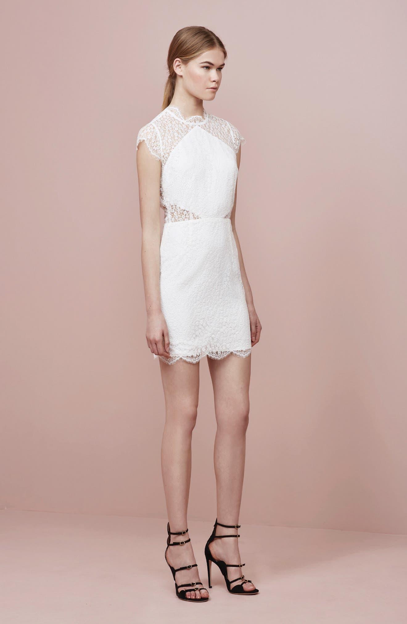 Alternate Image 2  - Keepsake the Label Daydream Lace Minidress