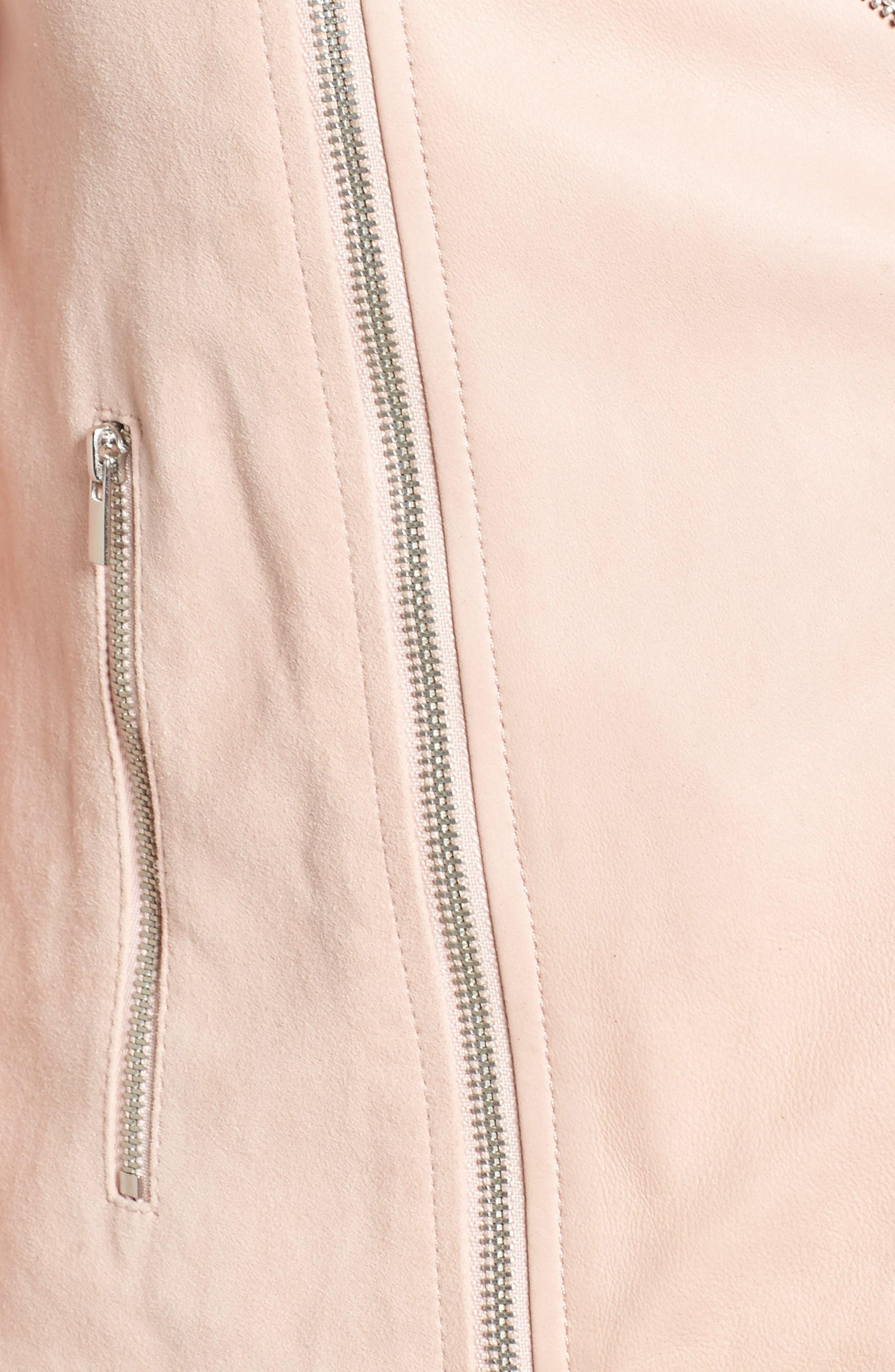 Alternate Image 6  - PAIGE Silvie Leather Moto Jacket
