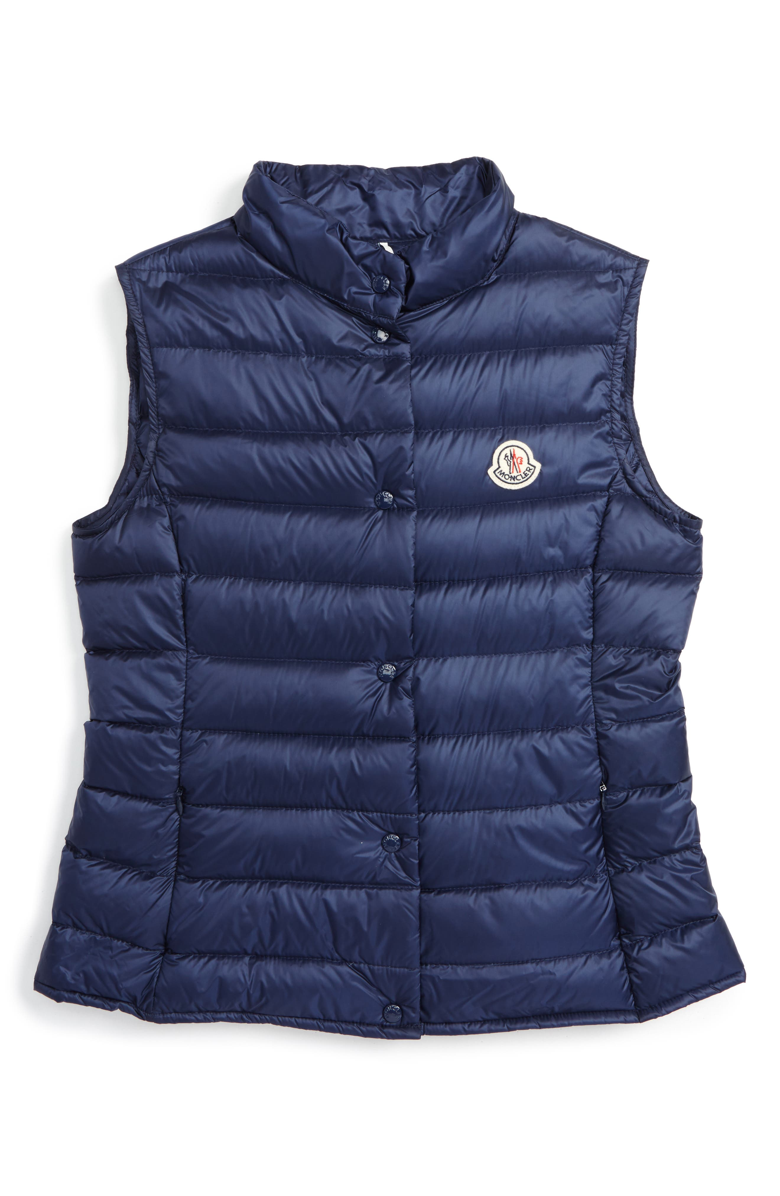 MONCLER Liane Water Resistant Down Puffer Vest