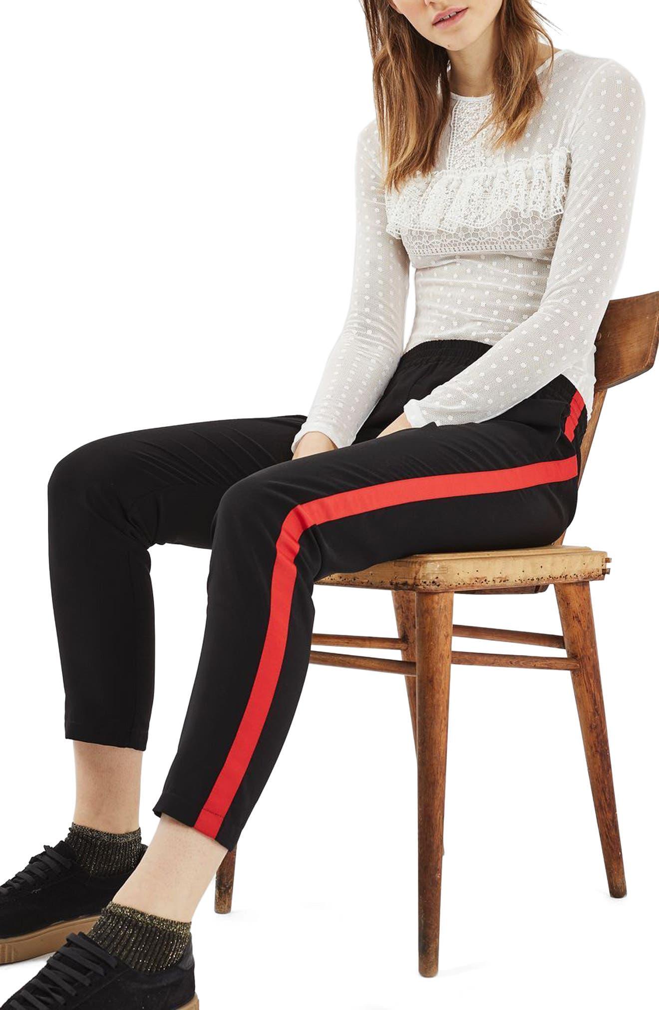 Alternate Image 2  - Topshop Polka Dot Lace Bodysuit