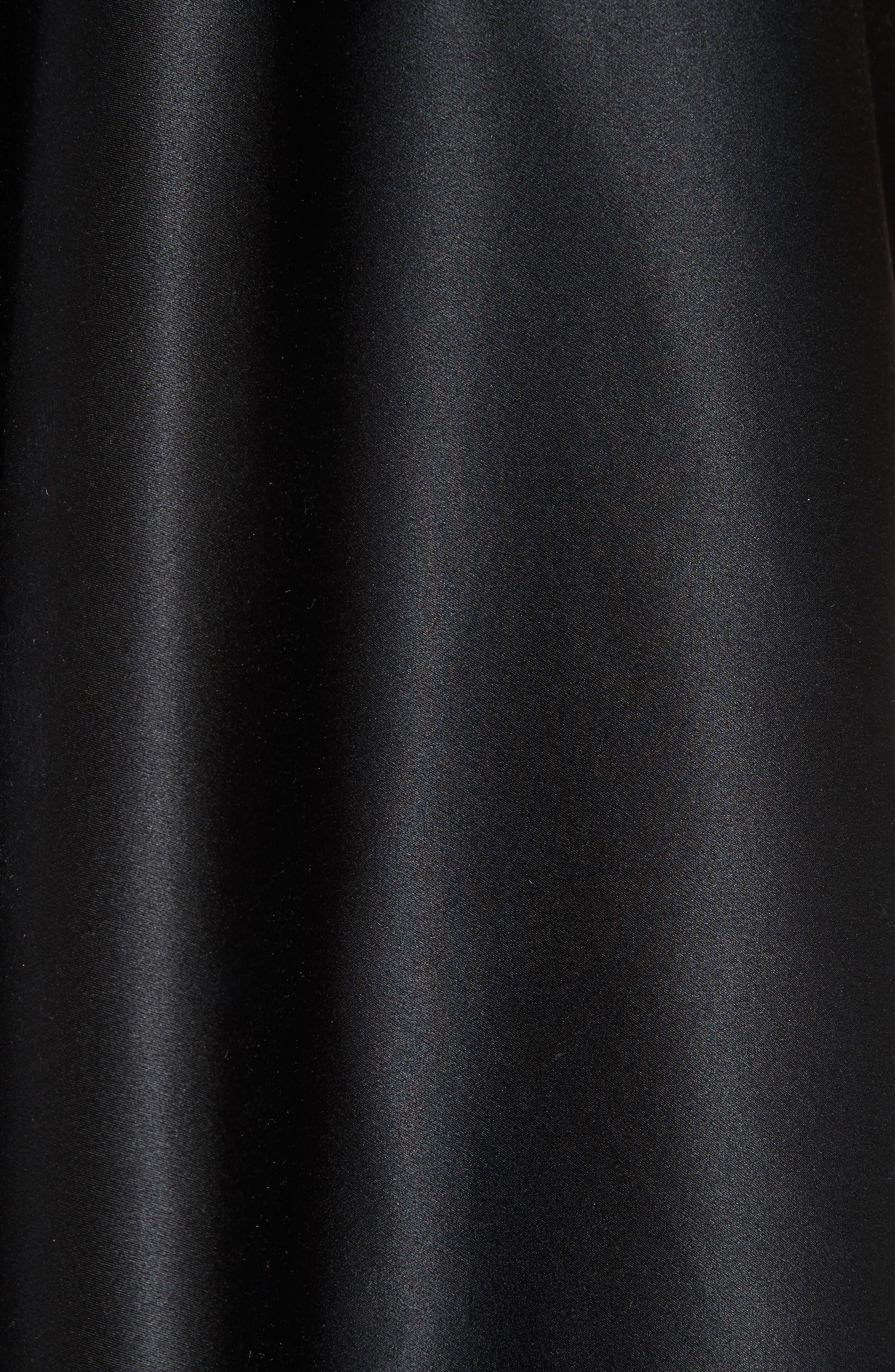 Alternate Image 5  - T by Alexander Wang Silk Charmeuse Midi Dress