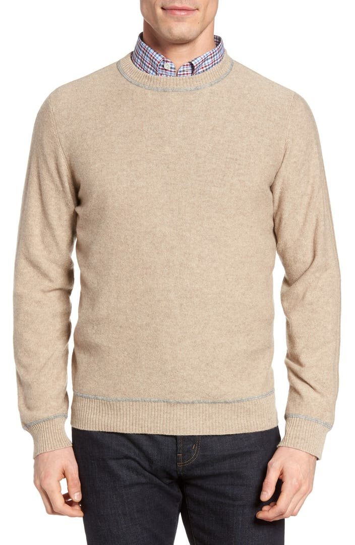 Available in a wide range of solid-color designs, this V-neck sweater knit from Italian cashmere is a layering office essential that's also comfy enough for the weekend. Style Name: John W. Nordstrom Cashmere V-Neck Sweater (Regular & Tall).