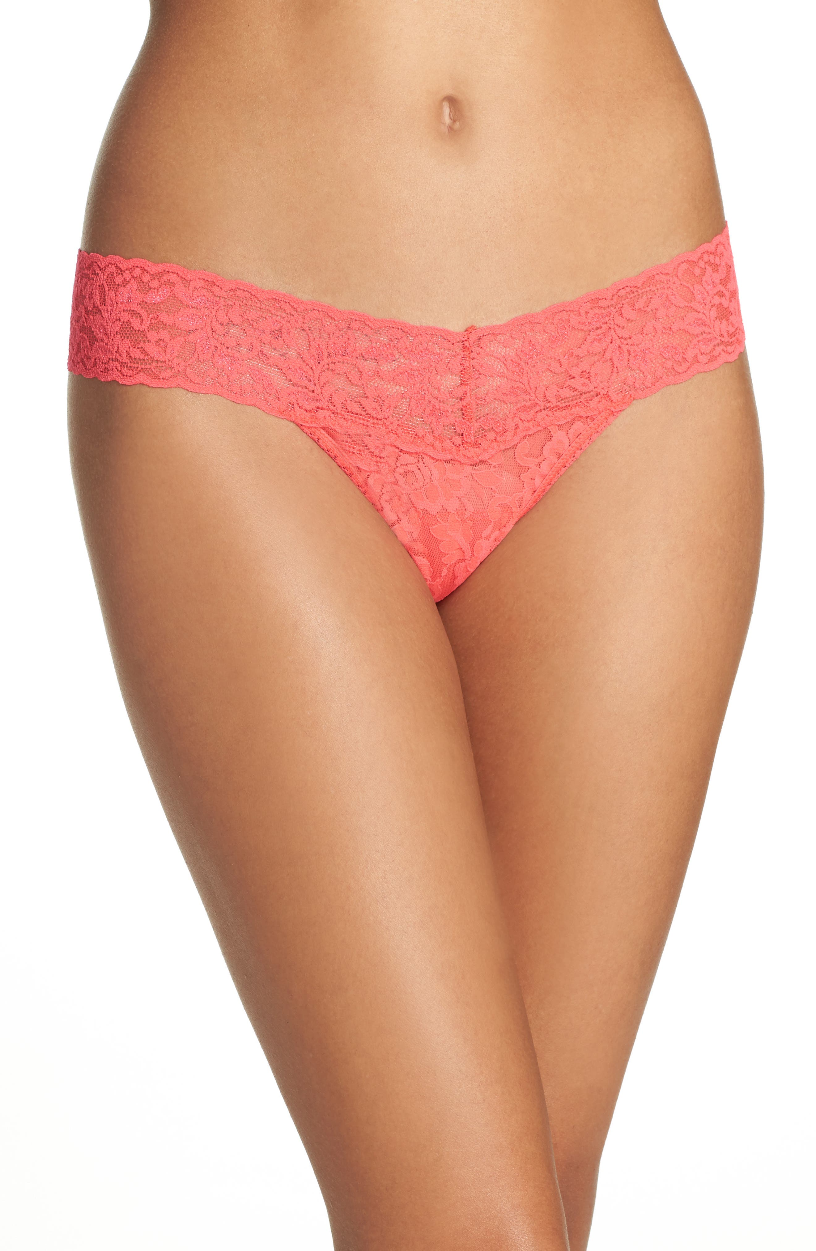Hanky Panky 'Signature Lace' Low Rise Thong