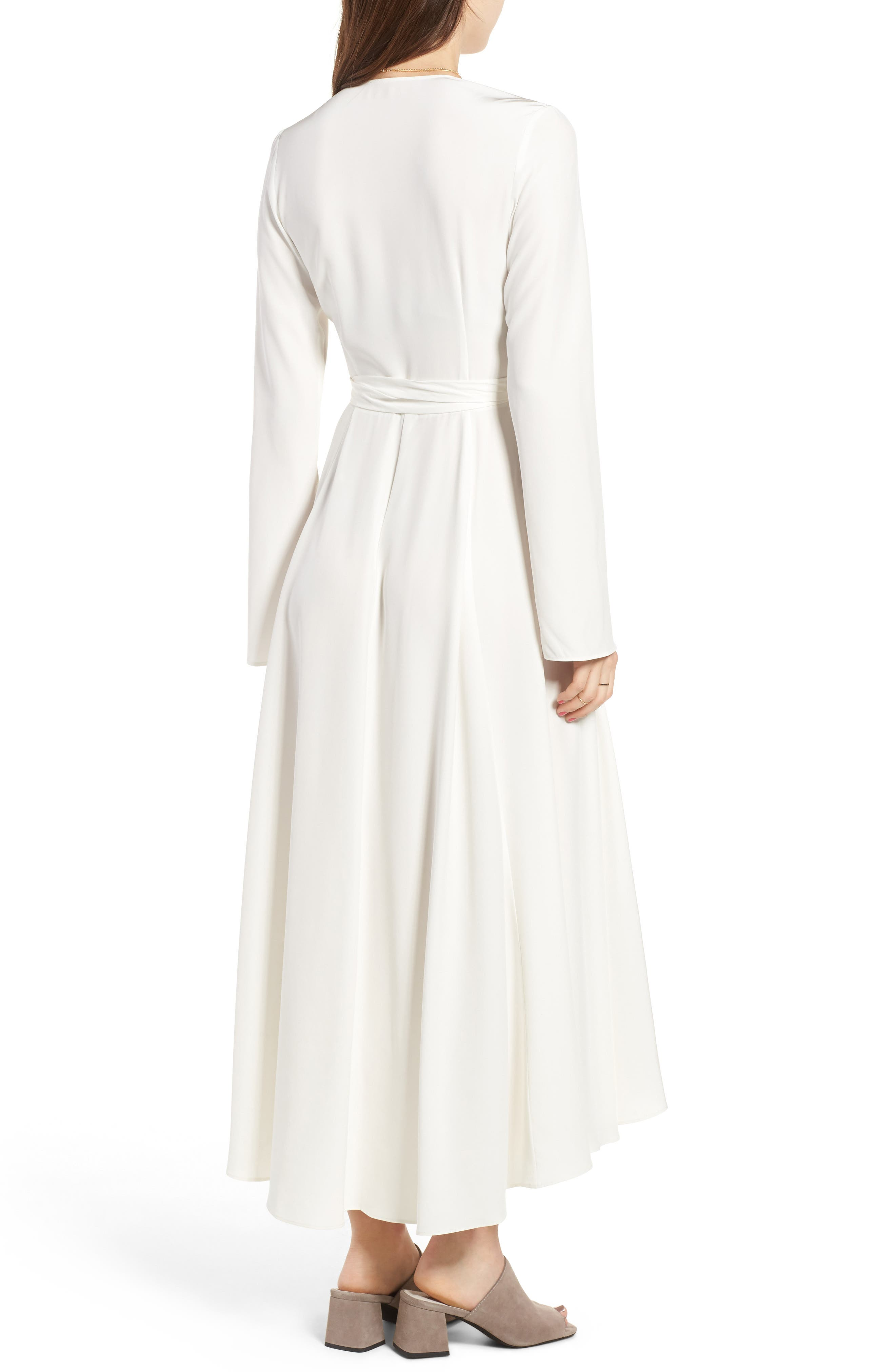 Alternate Image 2  - Stone Cold Fox Nico Silk Wrap Dress