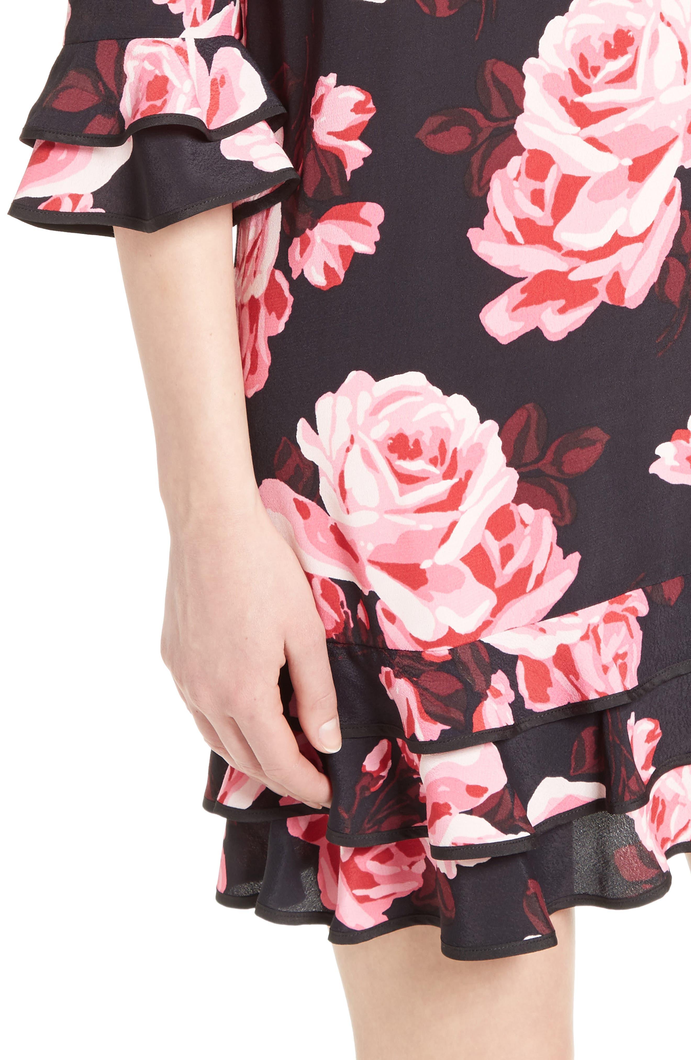 Alternate Image 4  - kate spade new york rosa ruffle shift dress
