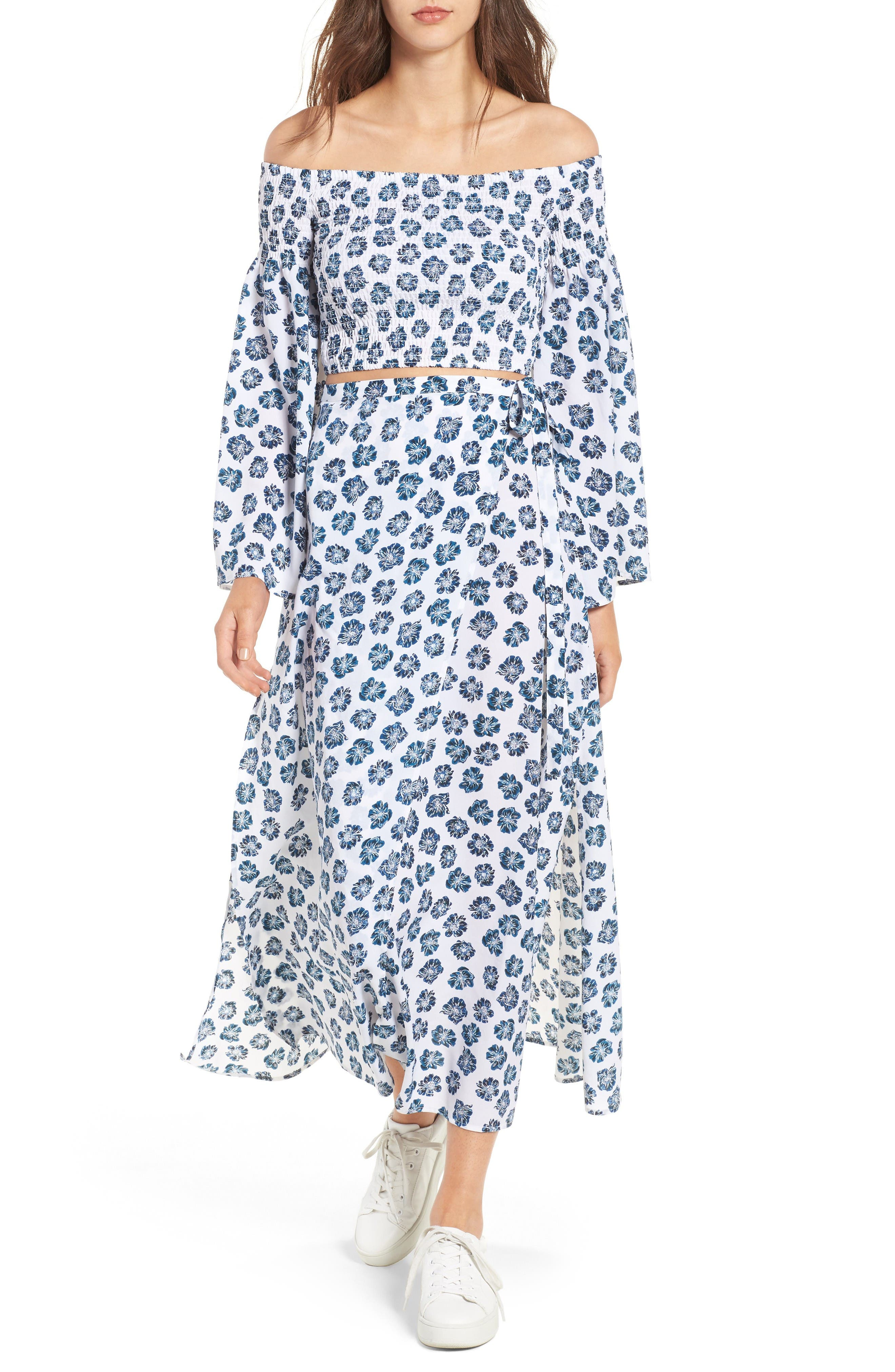 Alternate Image 5  - The Fifth Label Romancing Print Wrap Skirt