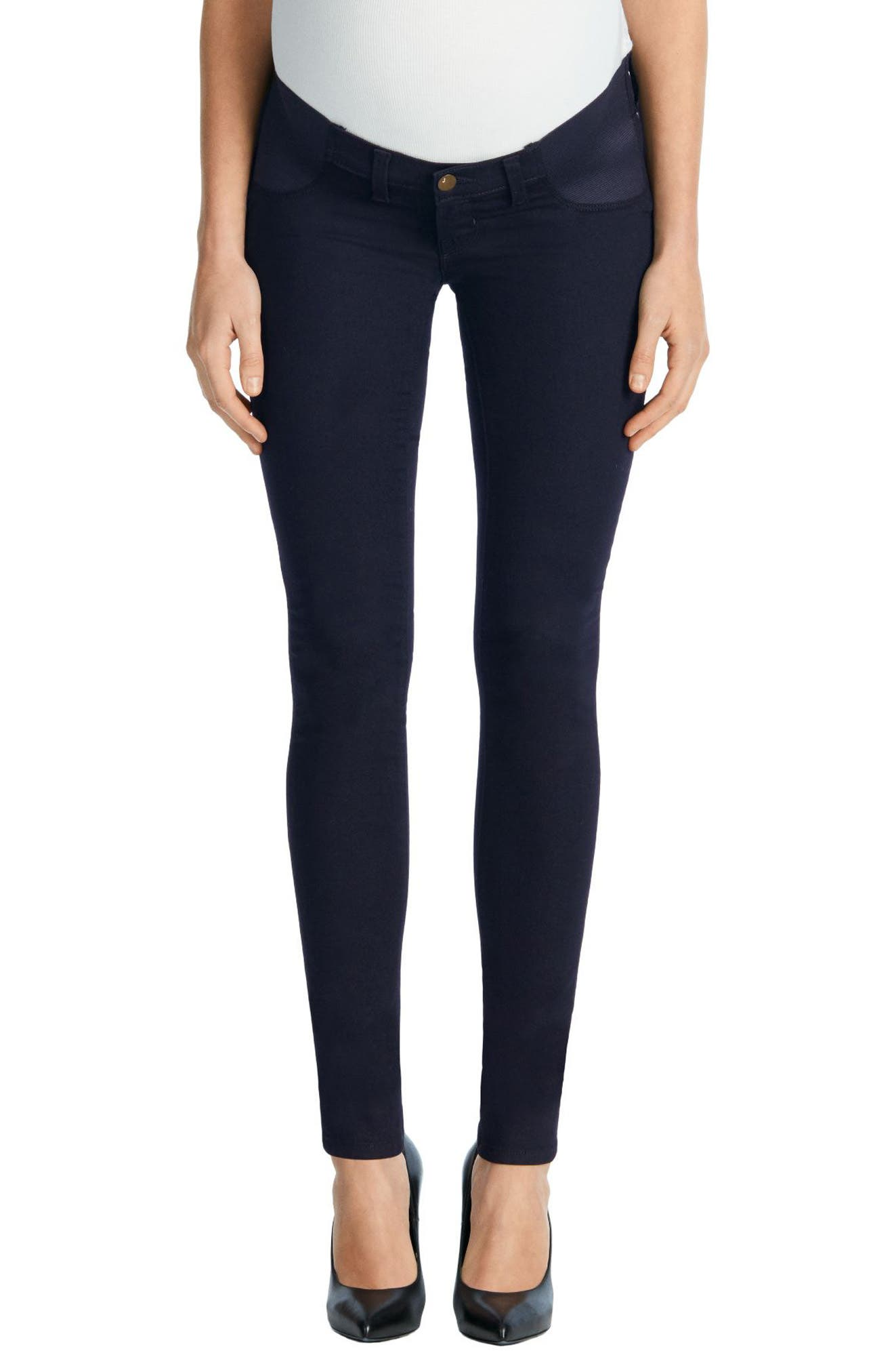 J Brand Mama J Super Skinny Maternity Jeans (Bluebird)
