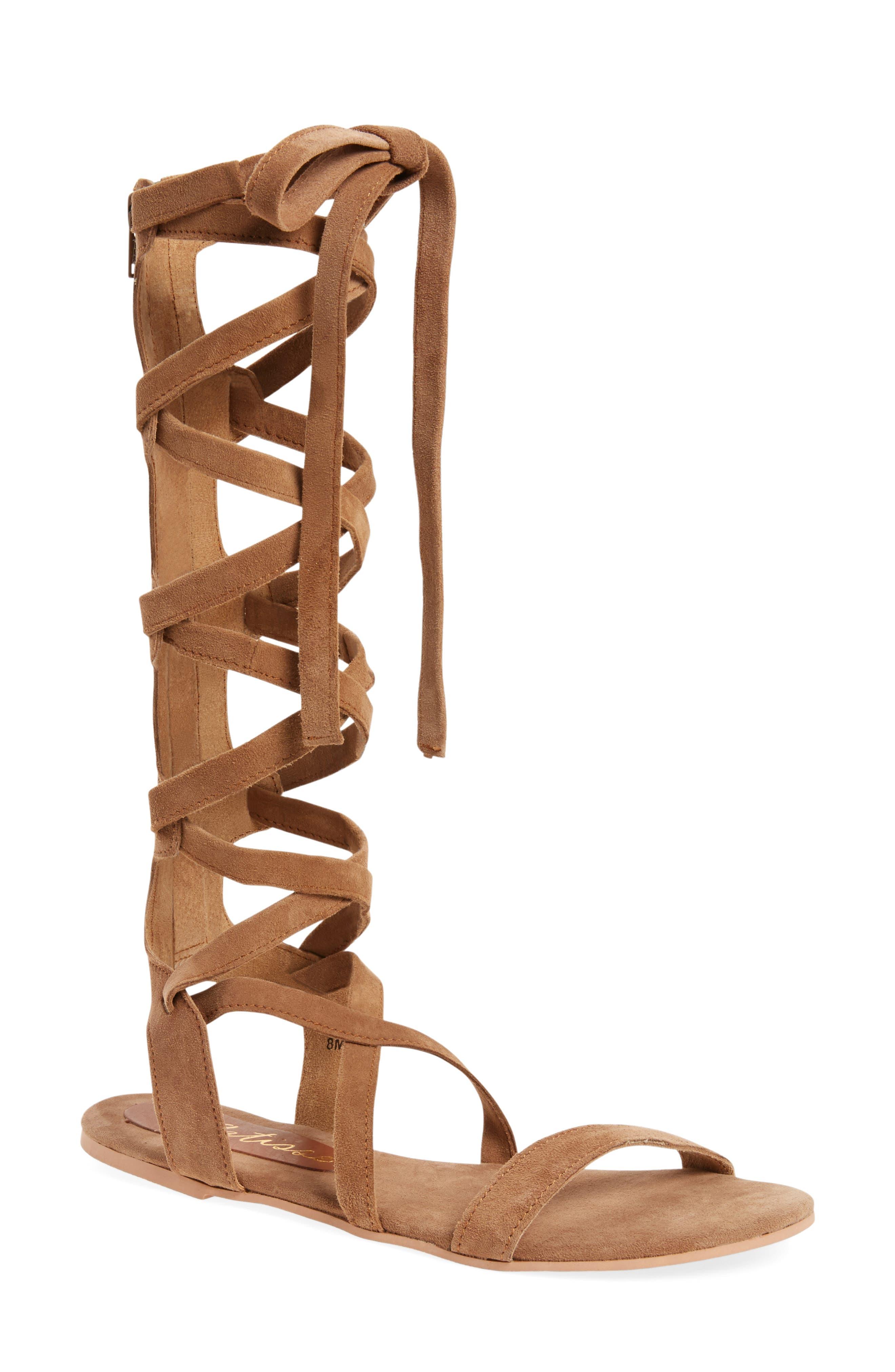 Main Image - Matisse Zepher Tall Gladiator Sandal (Women)