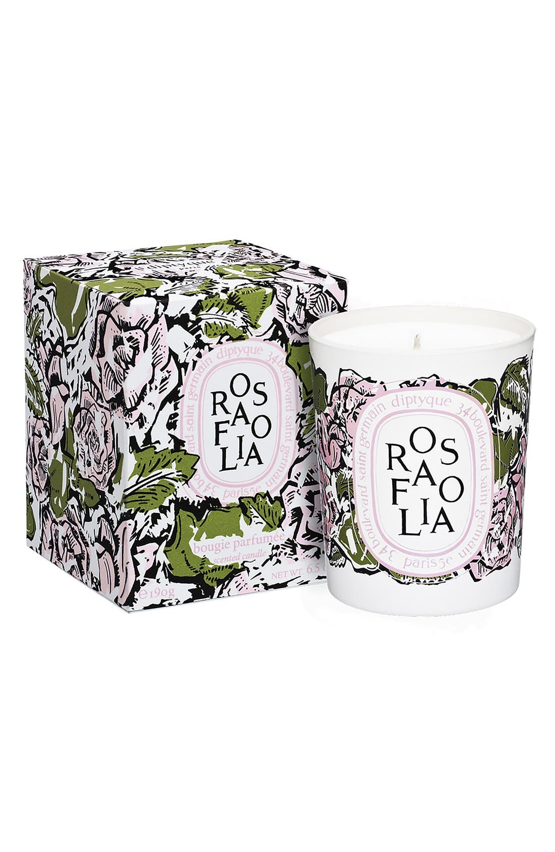 Alternate Image 2  - diptyque 'Rosafolia' Candle (Limited Edition)