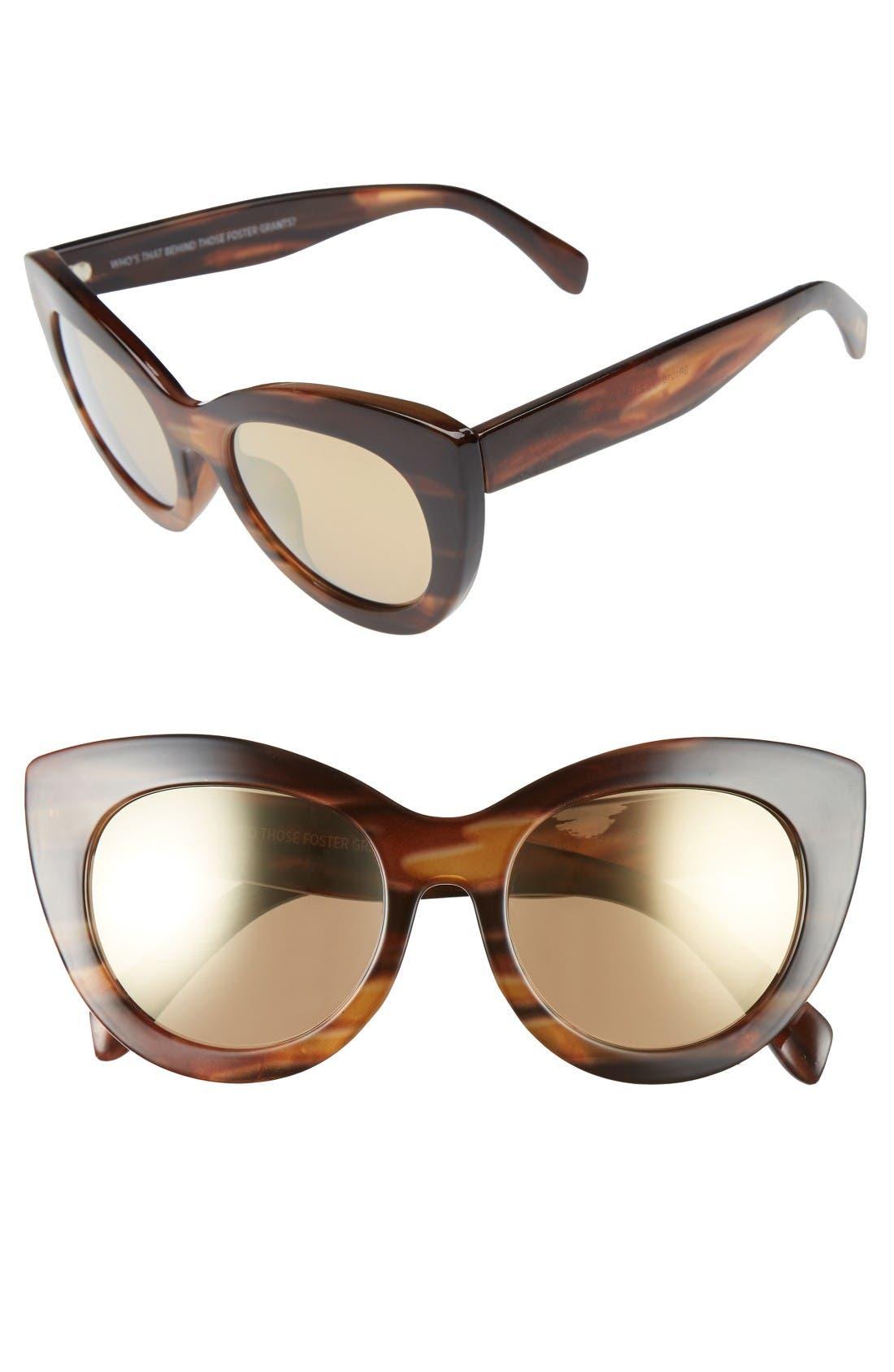 ITEM 8 TS.2 50mm Cat Eye Sunglasses