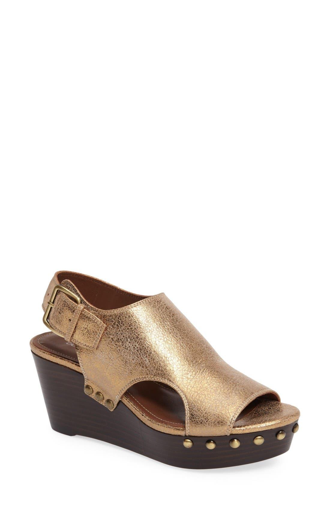 Donald J Pliner Fallon Platform Wedge Sandal (Women)
