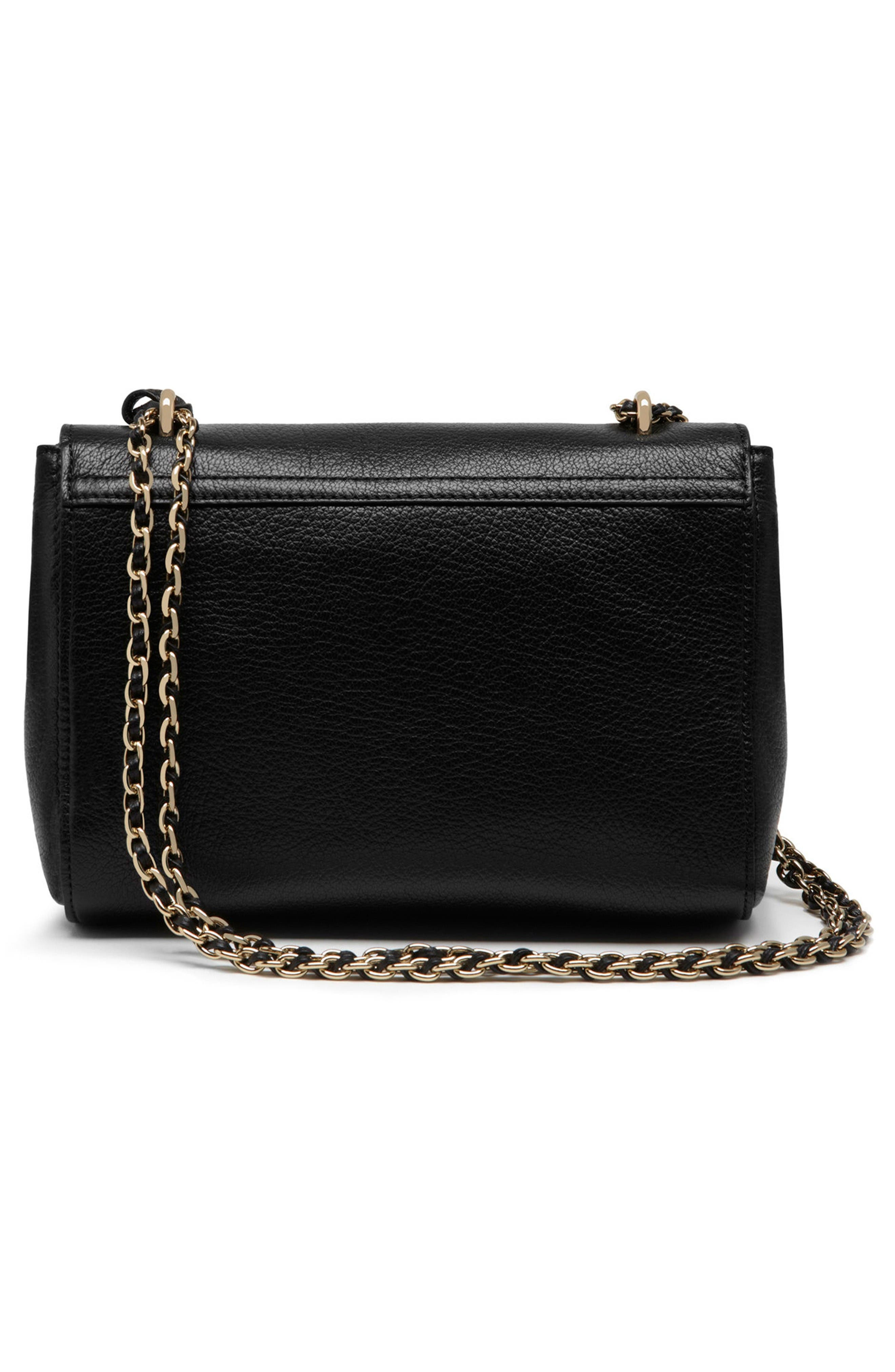 Alternate Image 2  - Mulberry Lily Glossy Leather Crossbody Clutch