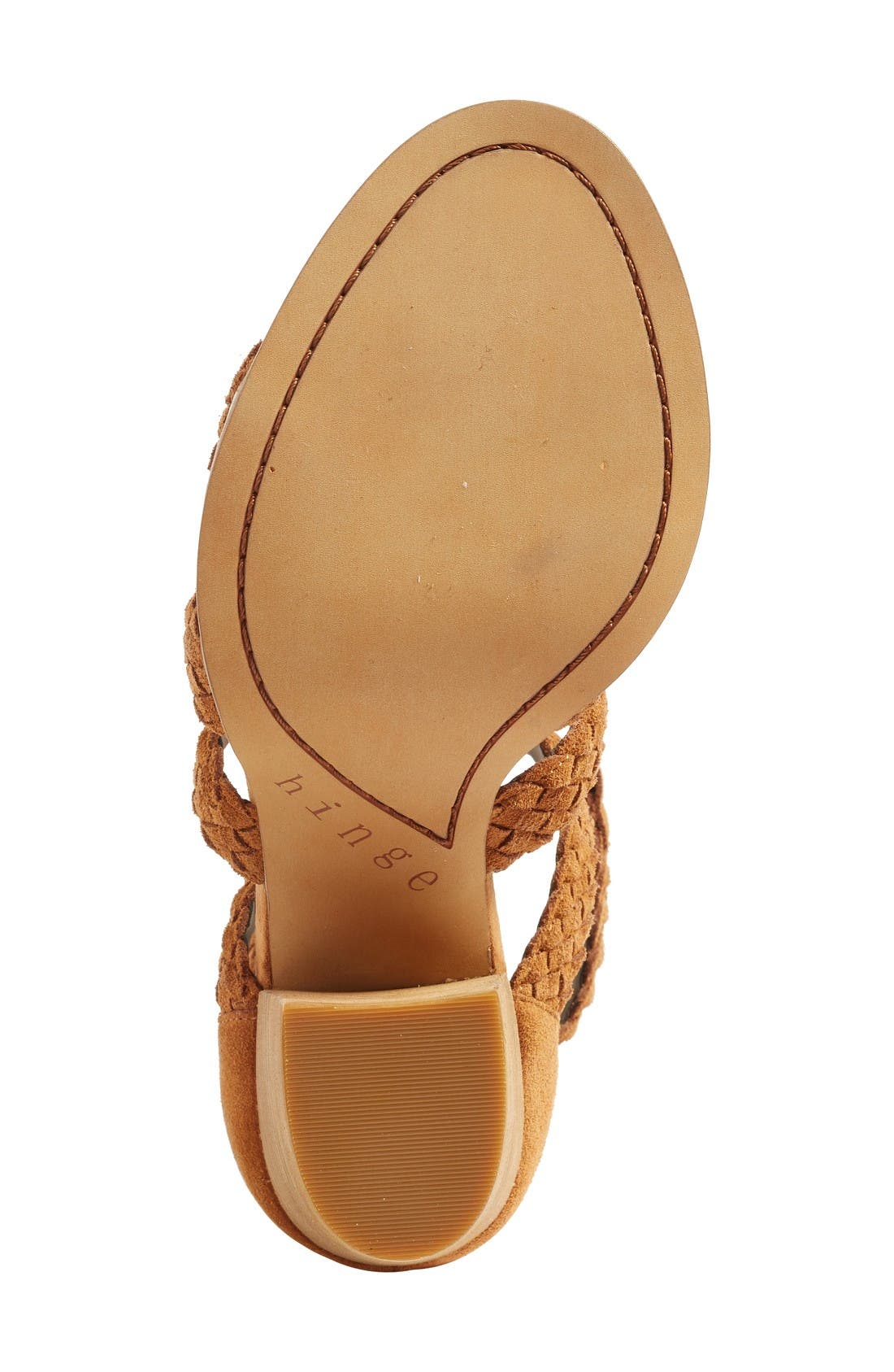 Alternate Image 4  - Hinge Desi Block Heel Sandal (Women)