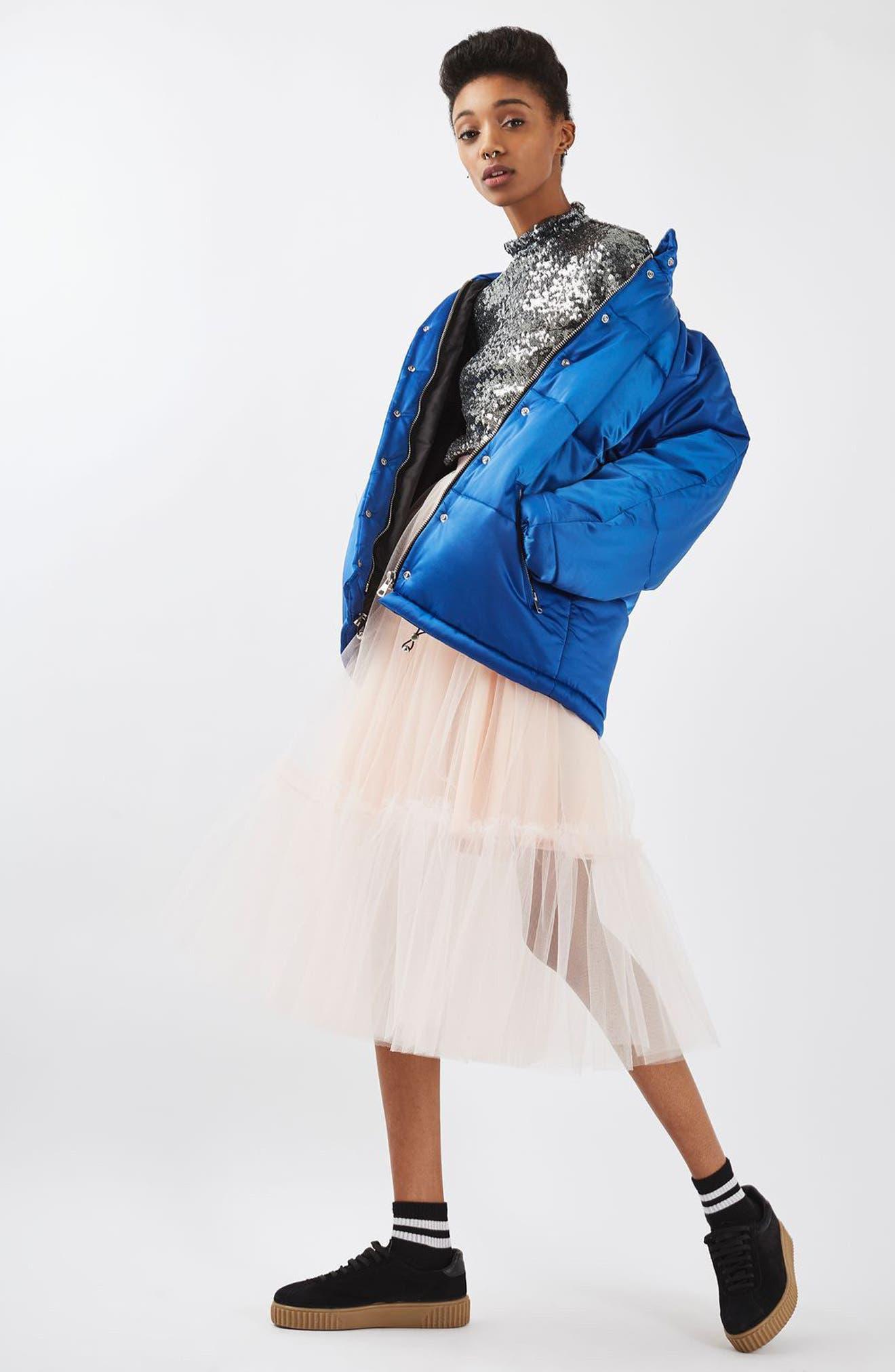 Alternate Image 2  - Topshop Tutu Tulle Skirt