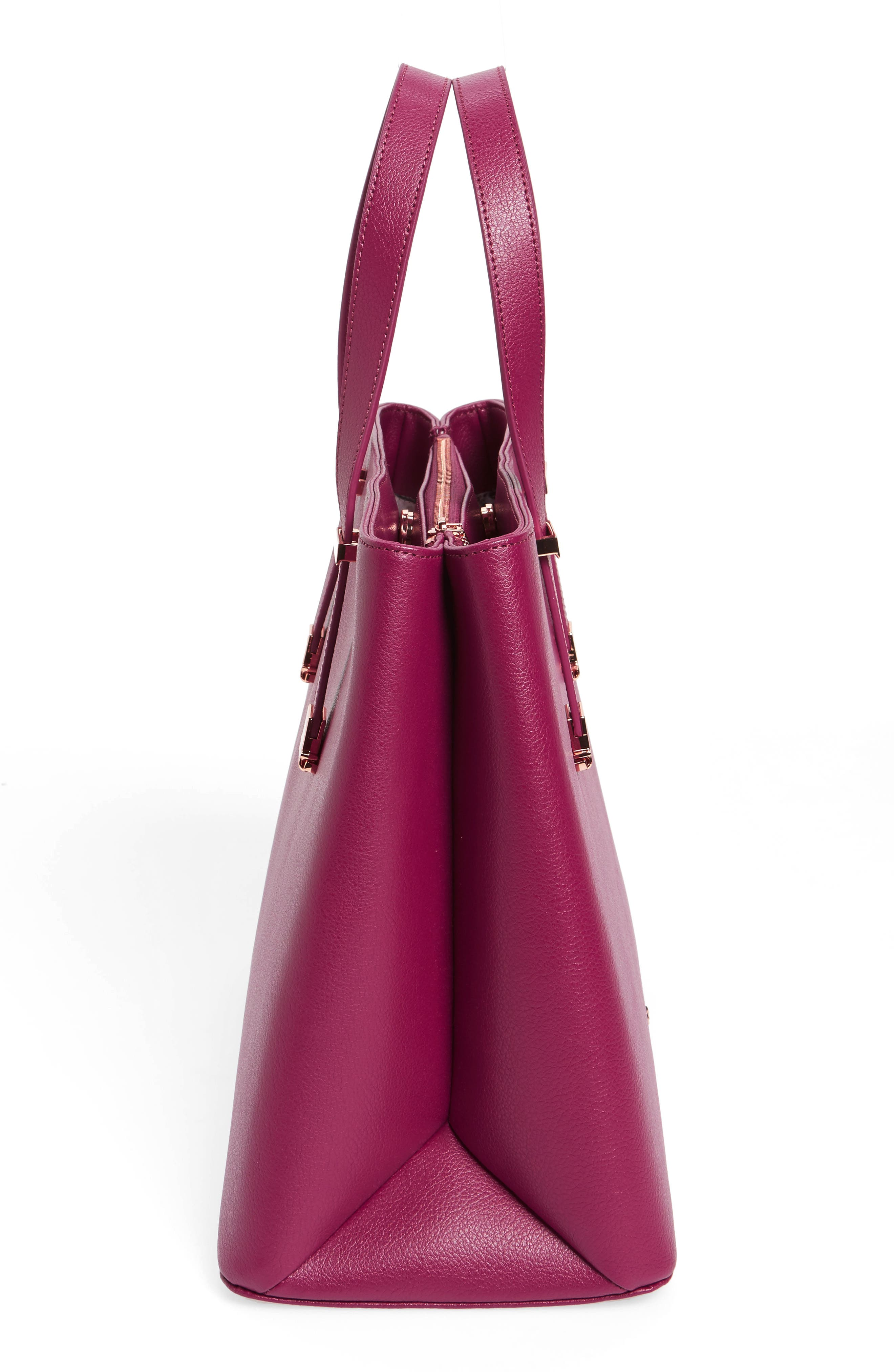 Alternate Image 4  - Ted Baker London Alissaa Leather Tote
