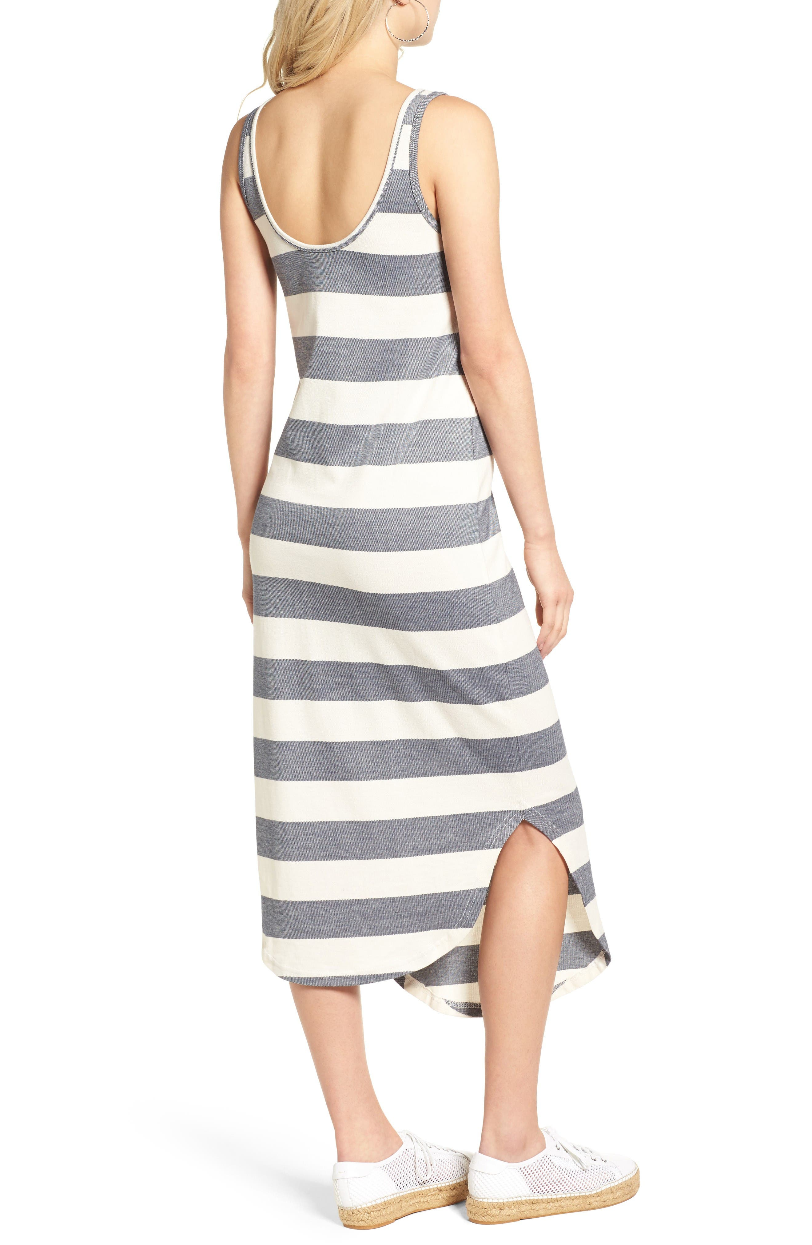 Alternate Image 3  - The Fifth Label Chelsea Stripe Midi Dress
