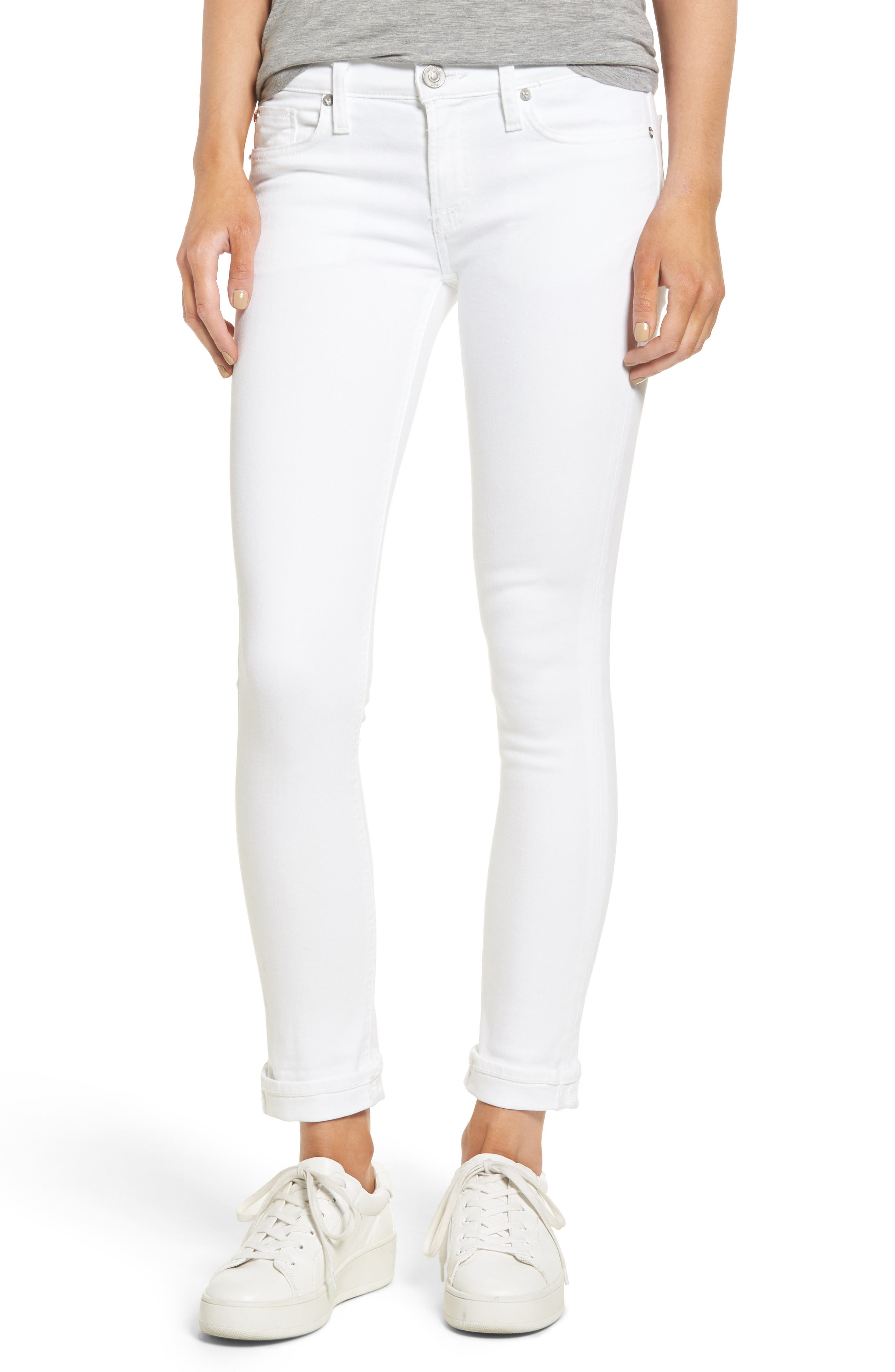 Hudson Jeans Tally Crop Skinny Jeans