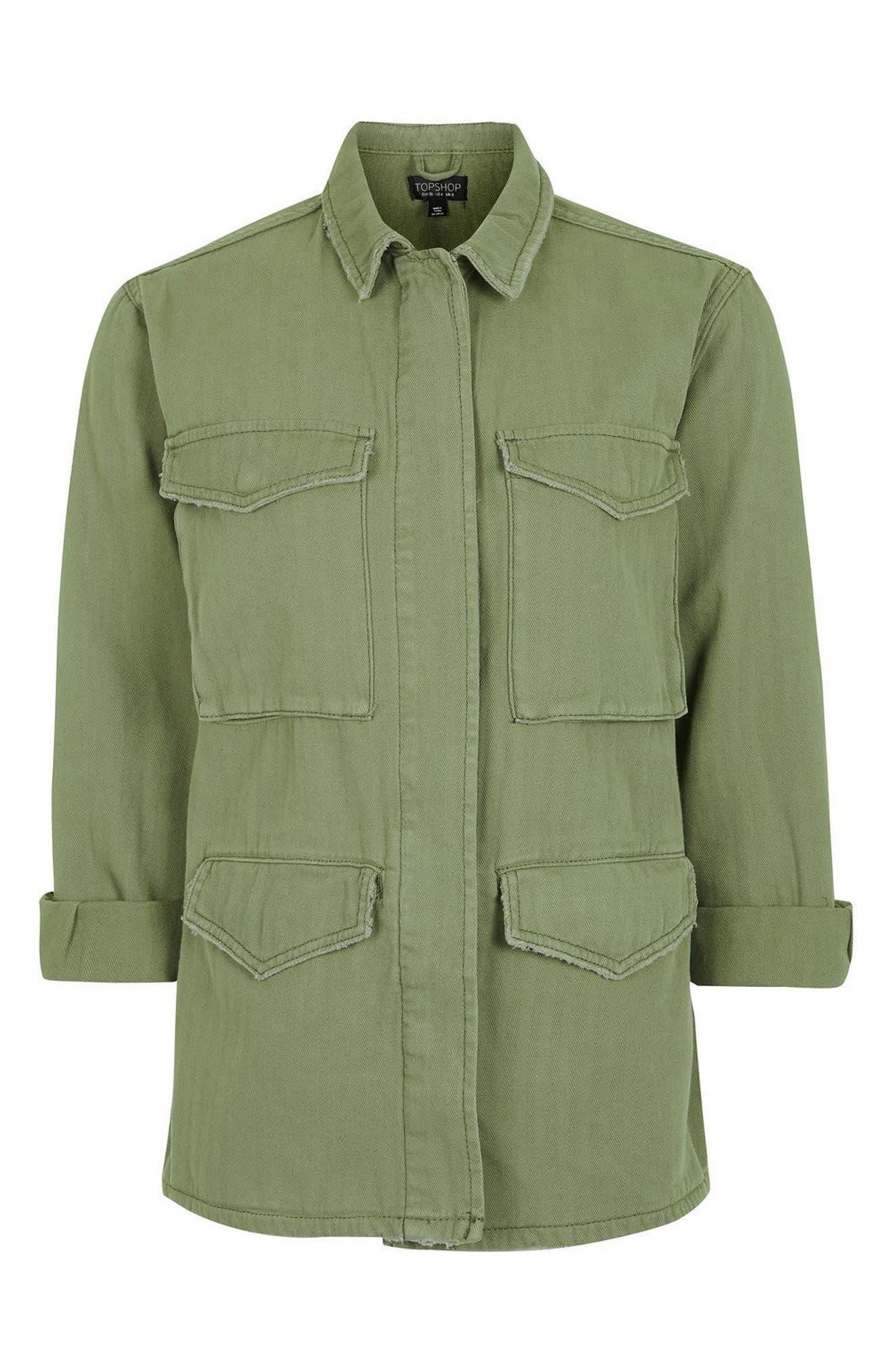Alternate Image 5  - Topshop Ethan Shirt Jacket