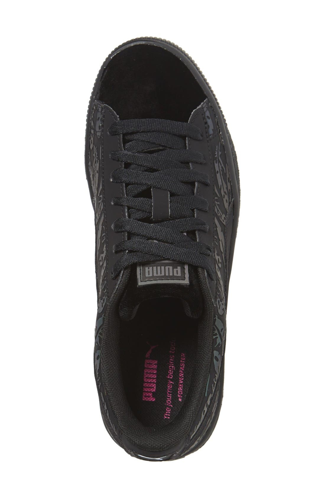 Alternate Image 3  - PUMA Basket Swan Sneaker (Women)