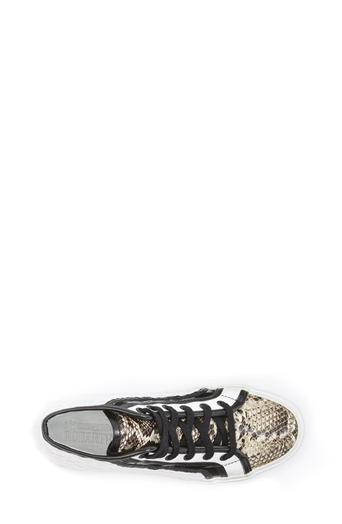 Alternate Image 3  - Superga Rodarte Mixed Media High Top Sneaker (Women)