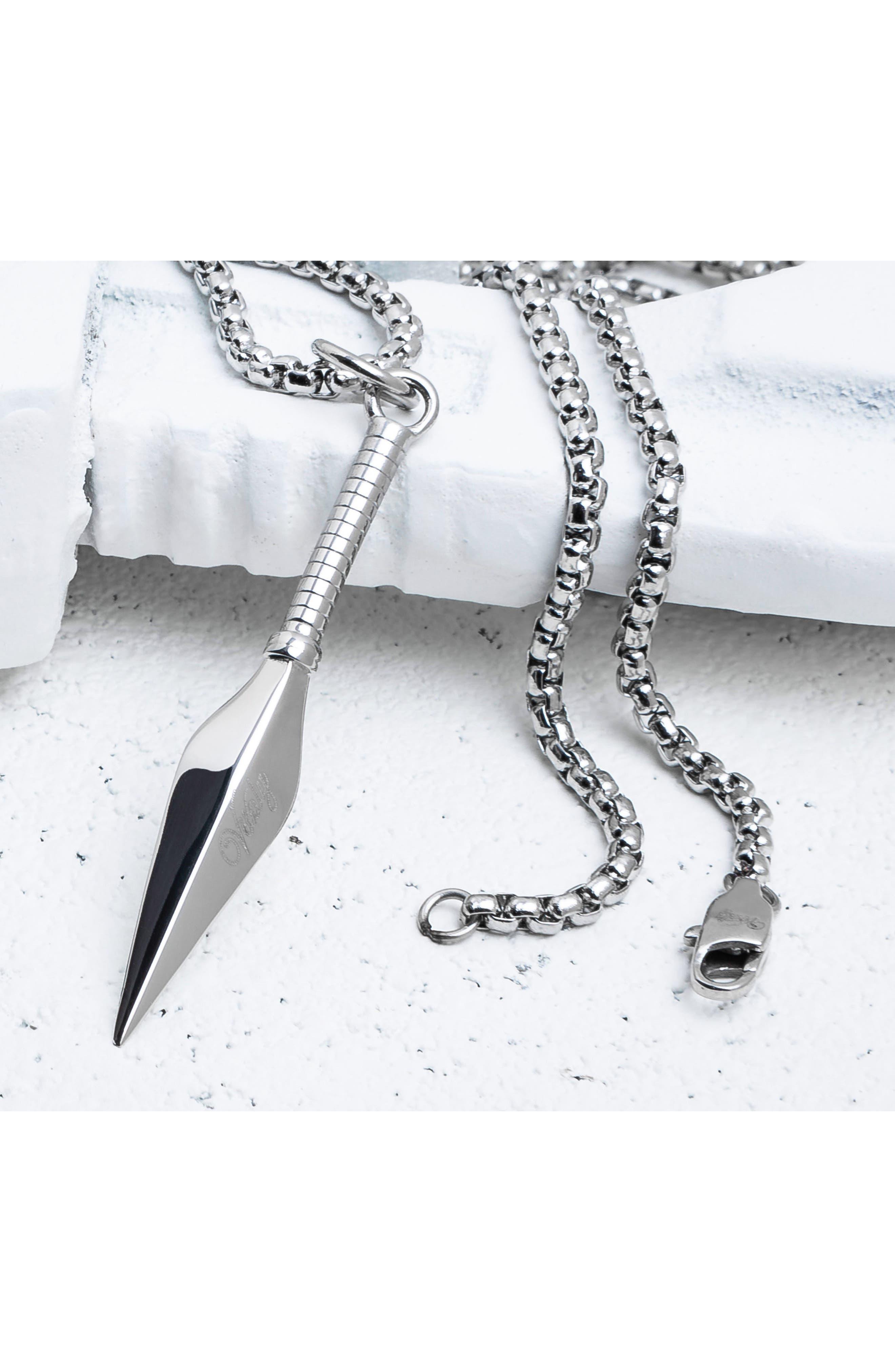 Alternate Image 2  - Vitaly Kunai Pendant Necklace