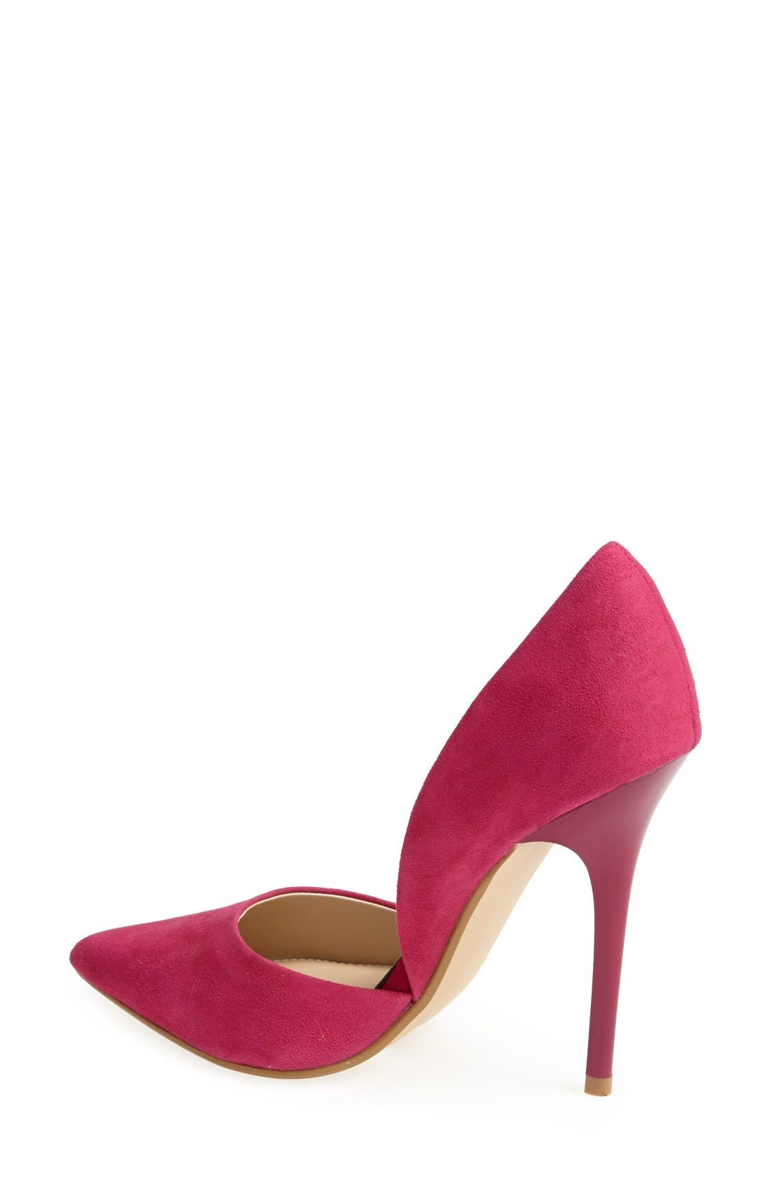 Alternate Image 2  - Steve Madden 'Varcityy' Pointy Toe Pump (Women)