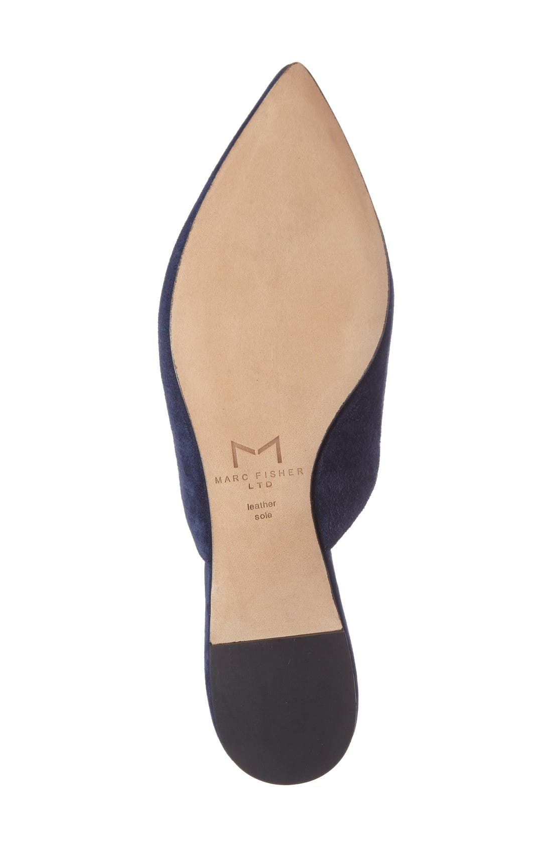Alternate Image 4  - Marc Fisher LTD Shiloh Flat Mule (Women)